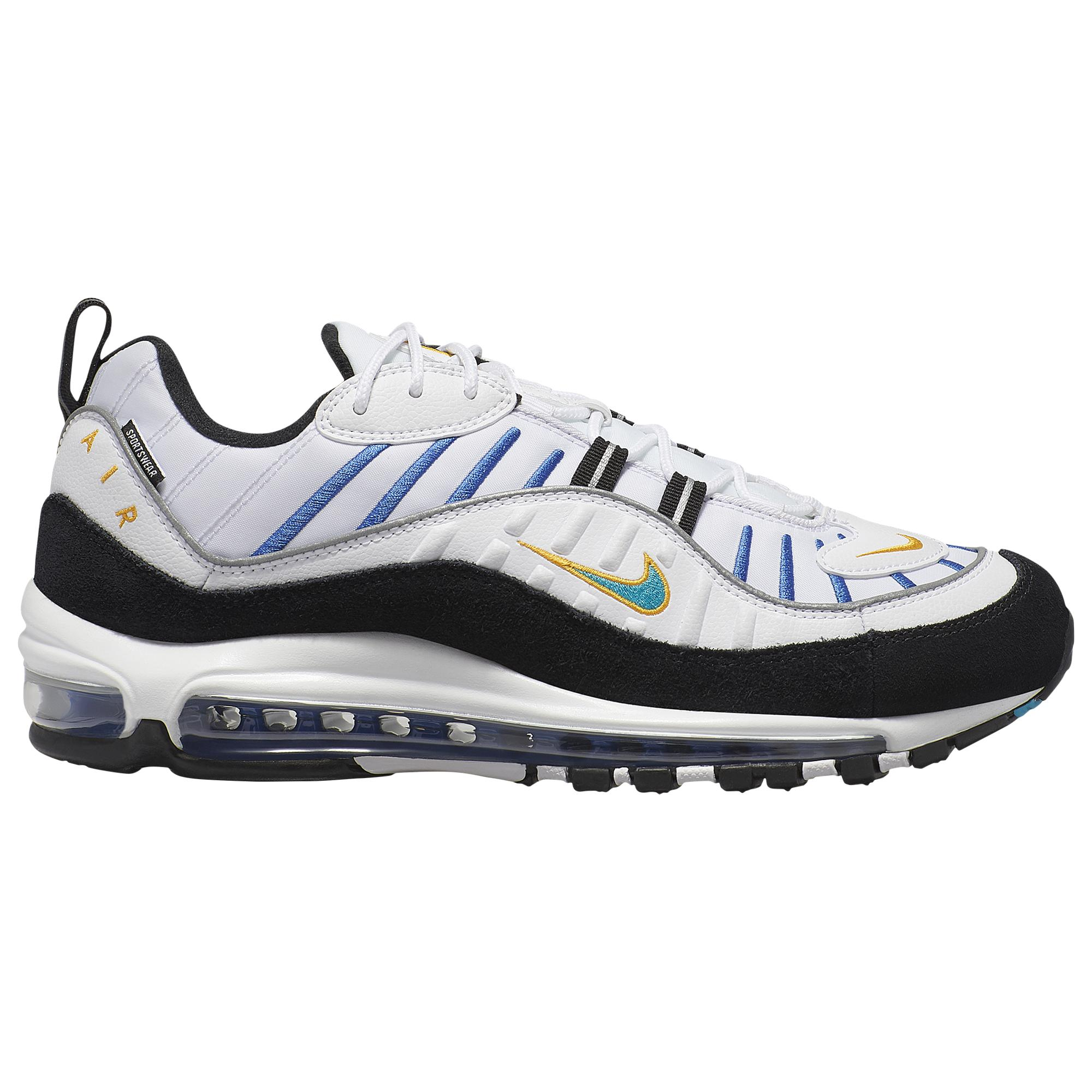 Nike Leather Air Max 98 Low-top sneakers for Men - Lyst
