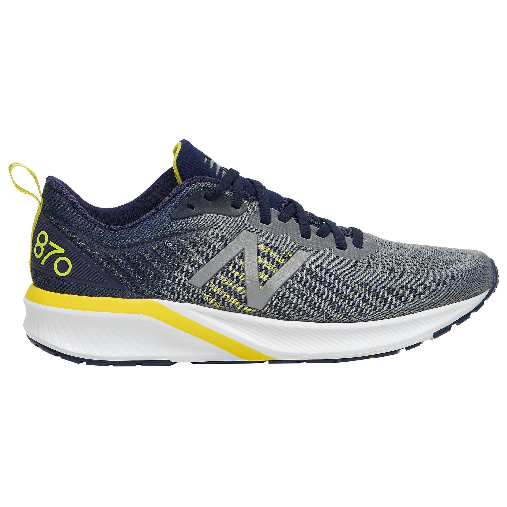 wholesale dealer 88aa0 7c297 Men's Blue 870 V5 Running Shoes