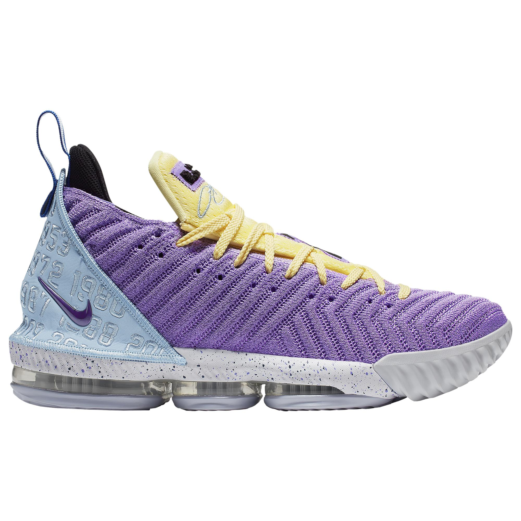 Nike Lebron 16 Lakers Championships in