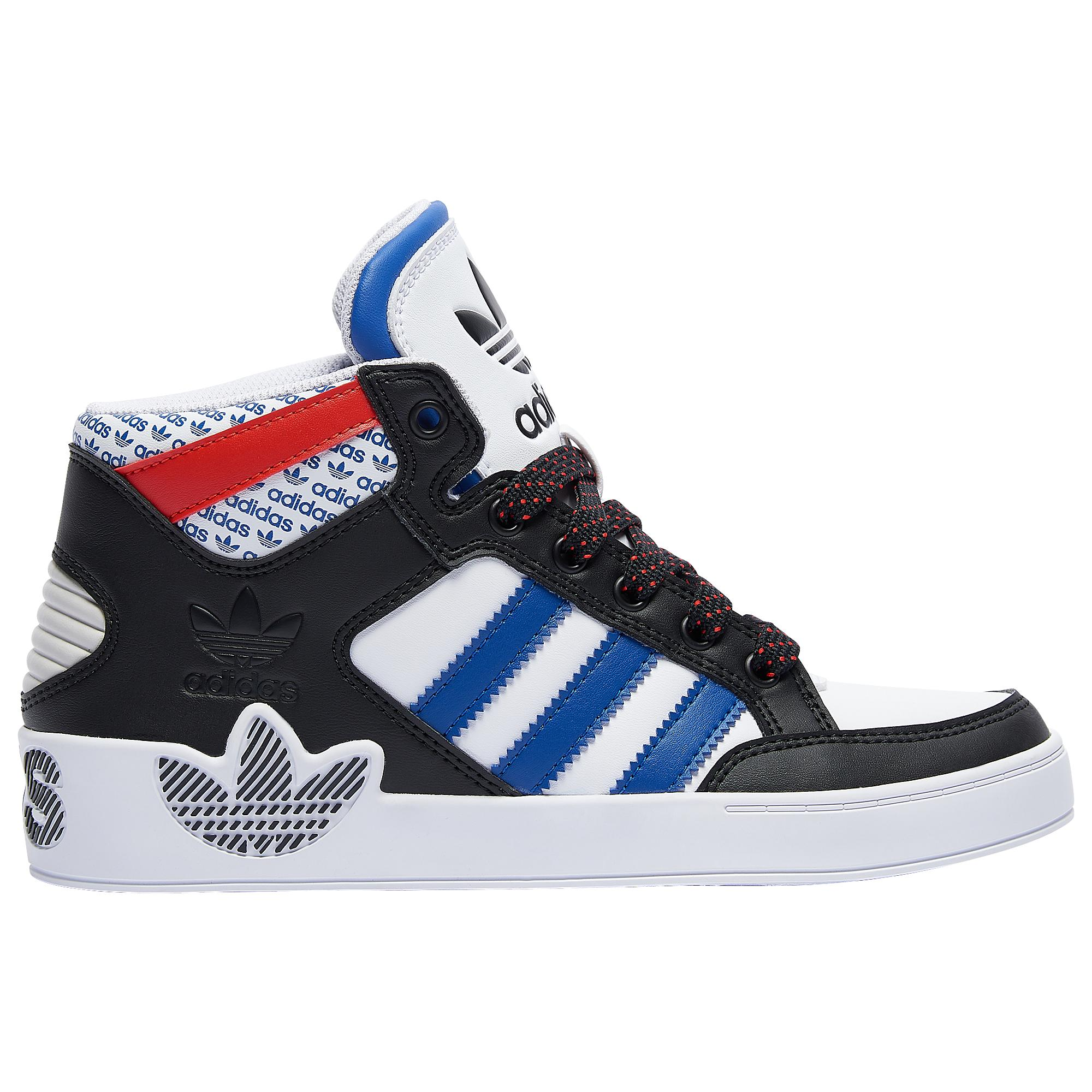 affär stor rabatt stor rea adidas Originals Rubber Hardcourt Hi Tennis Shoes in Black/White ...