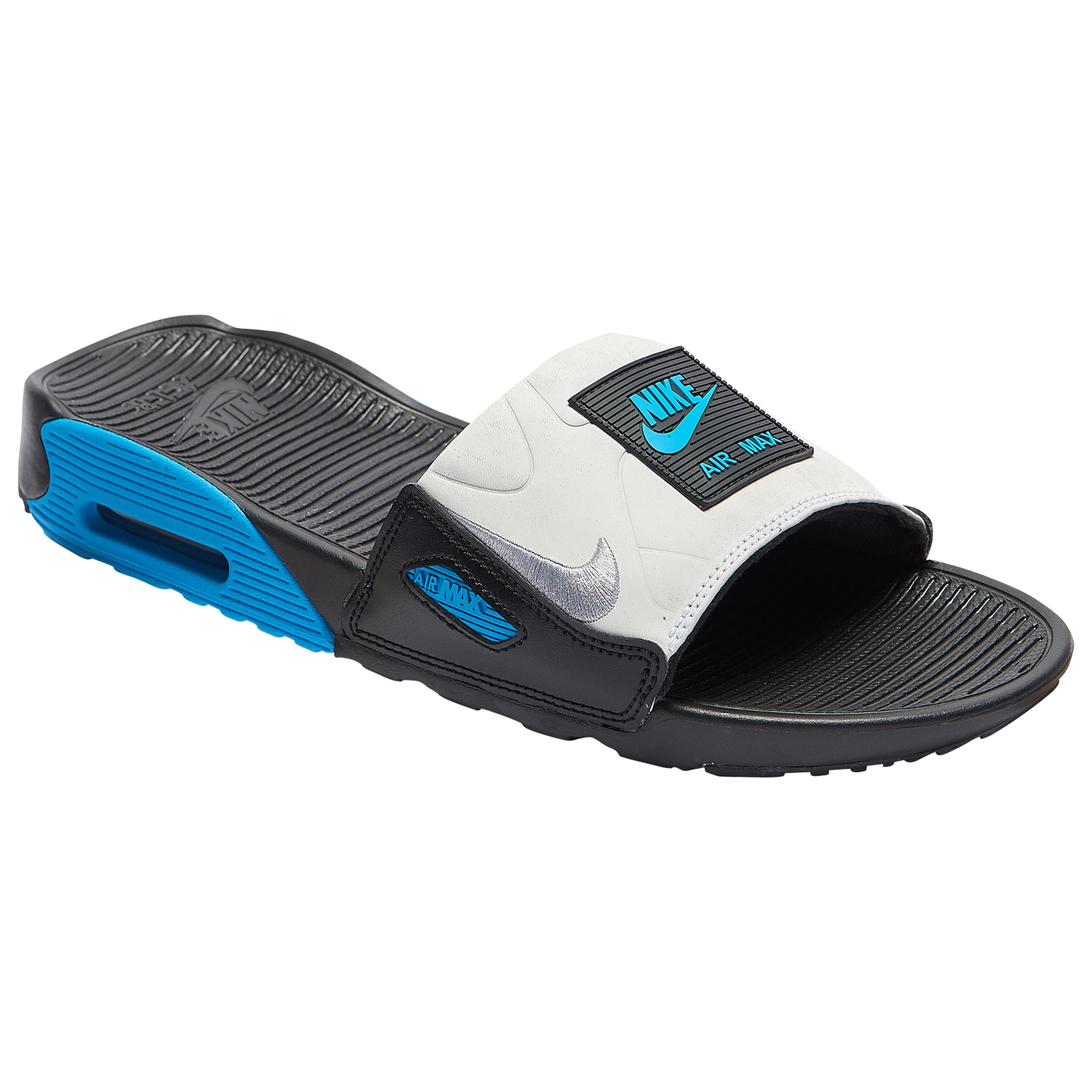 Nike Air Max 90 Slide in Blue for Men - Lyst