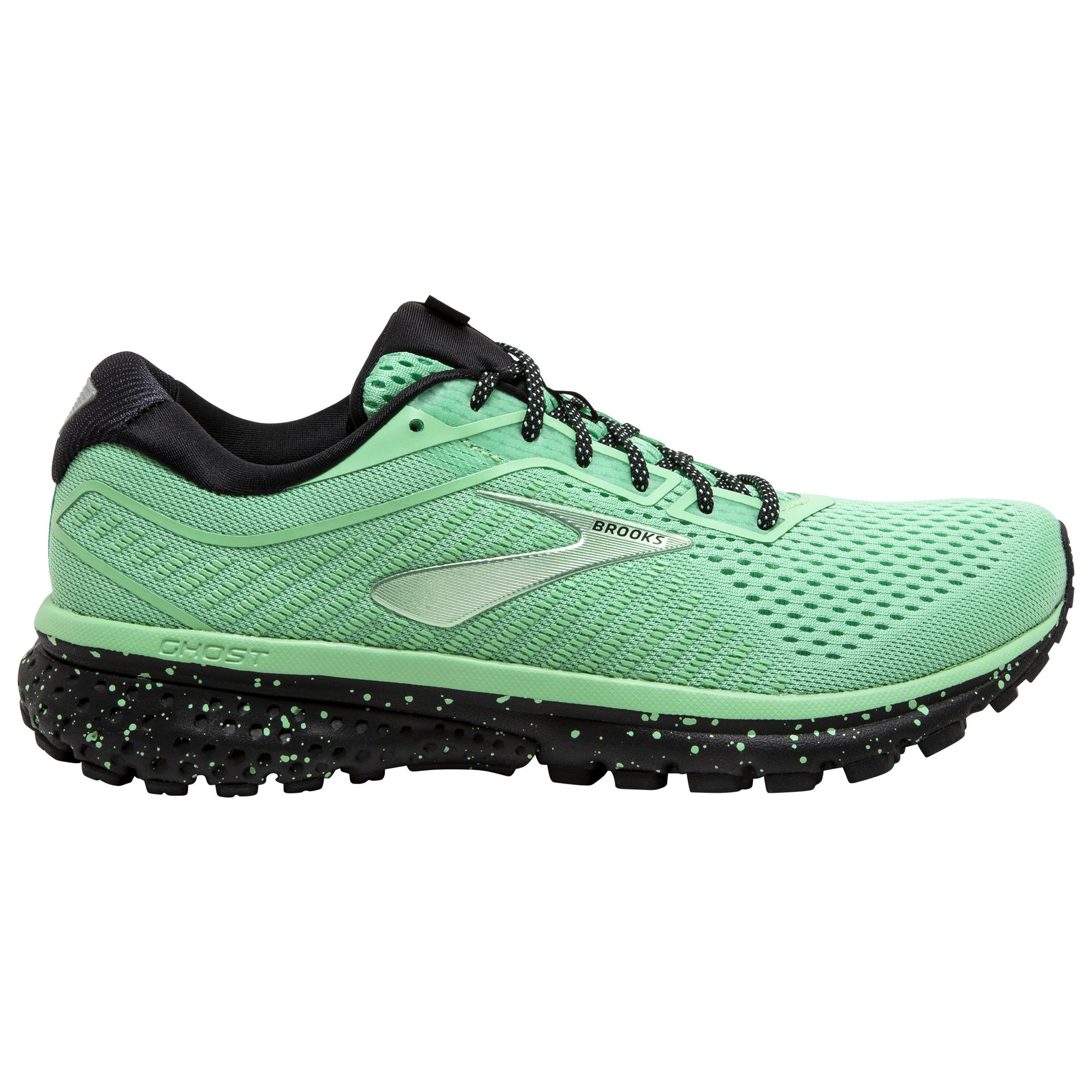 Brooks Ghost 12 Running Shoes in Green