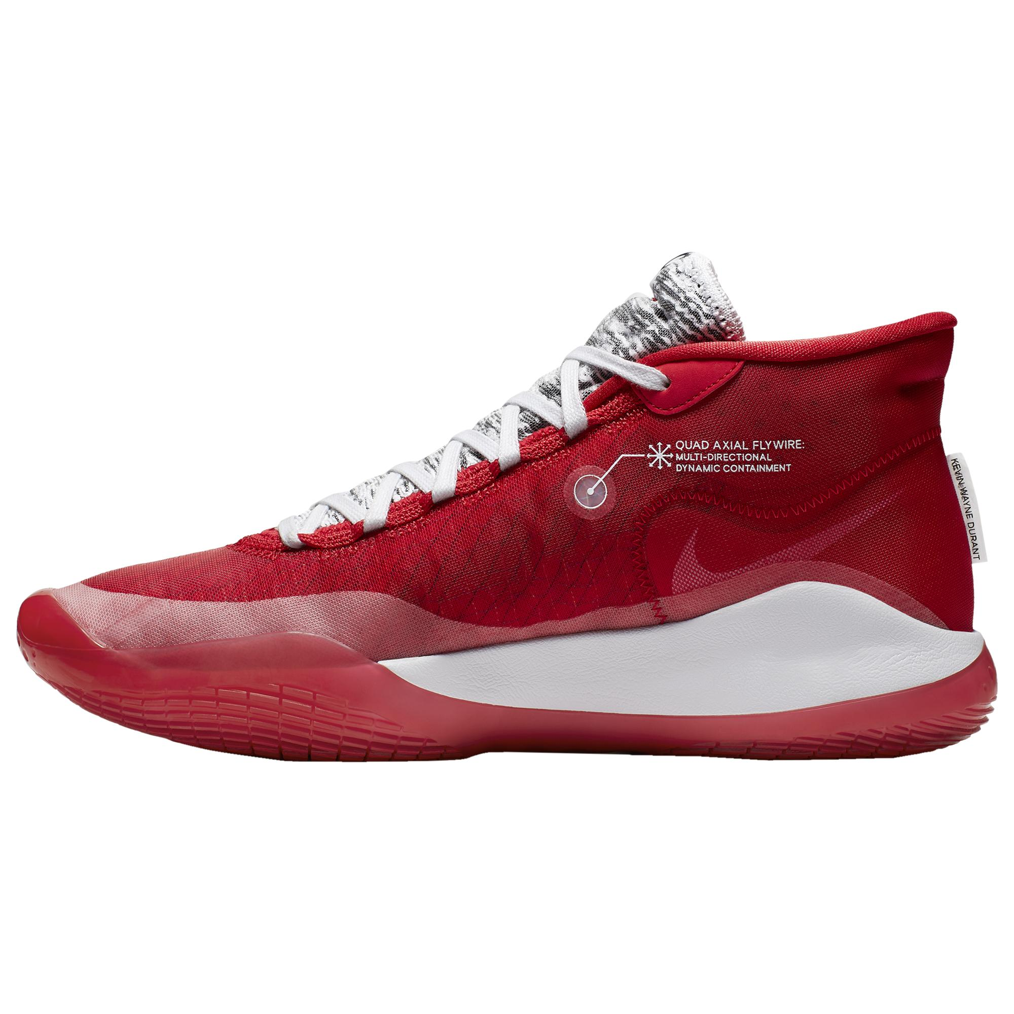 various colors 9643a 02032 Men's Red Zoom Kd12 Basketball Shoes