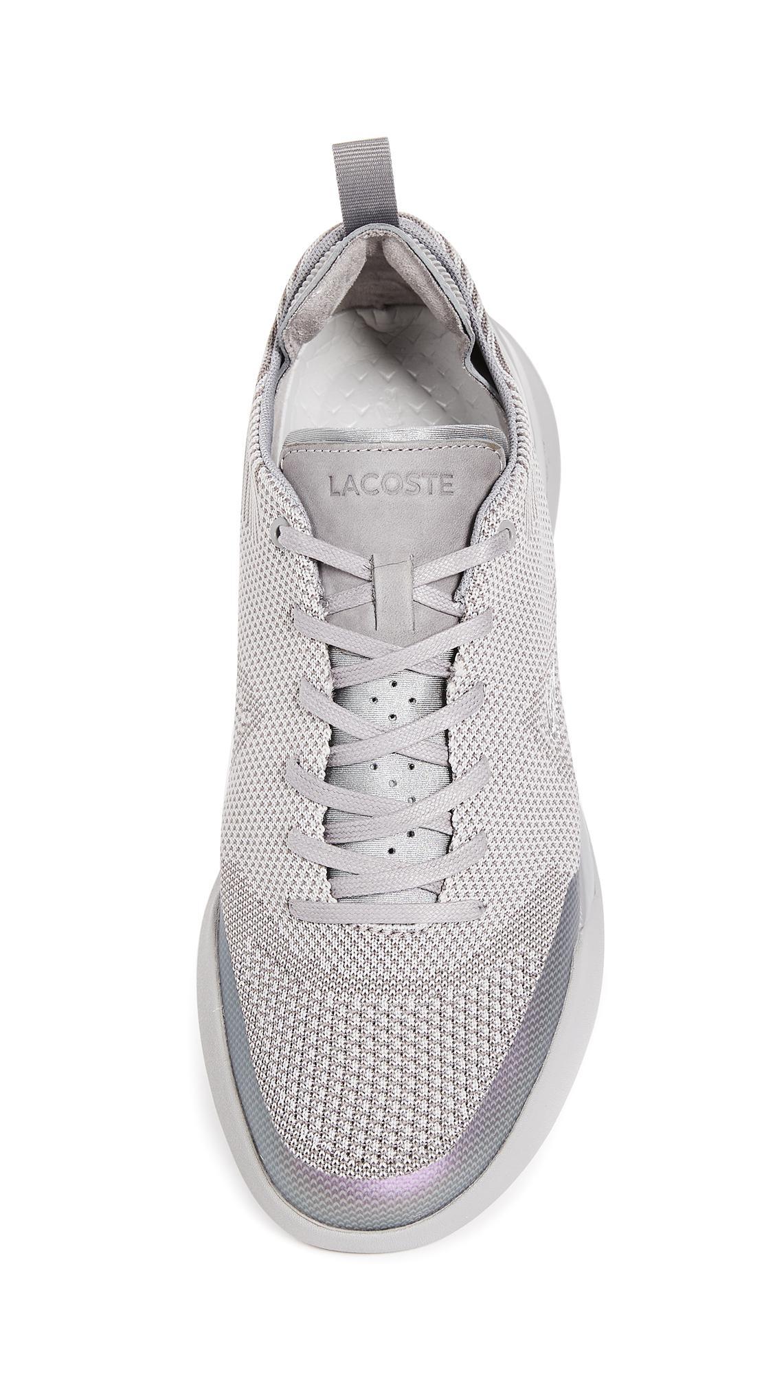 f59a3ec9f9288c Lyst - Lacoste Lt Dual Elite Sneakers in Gray for Men