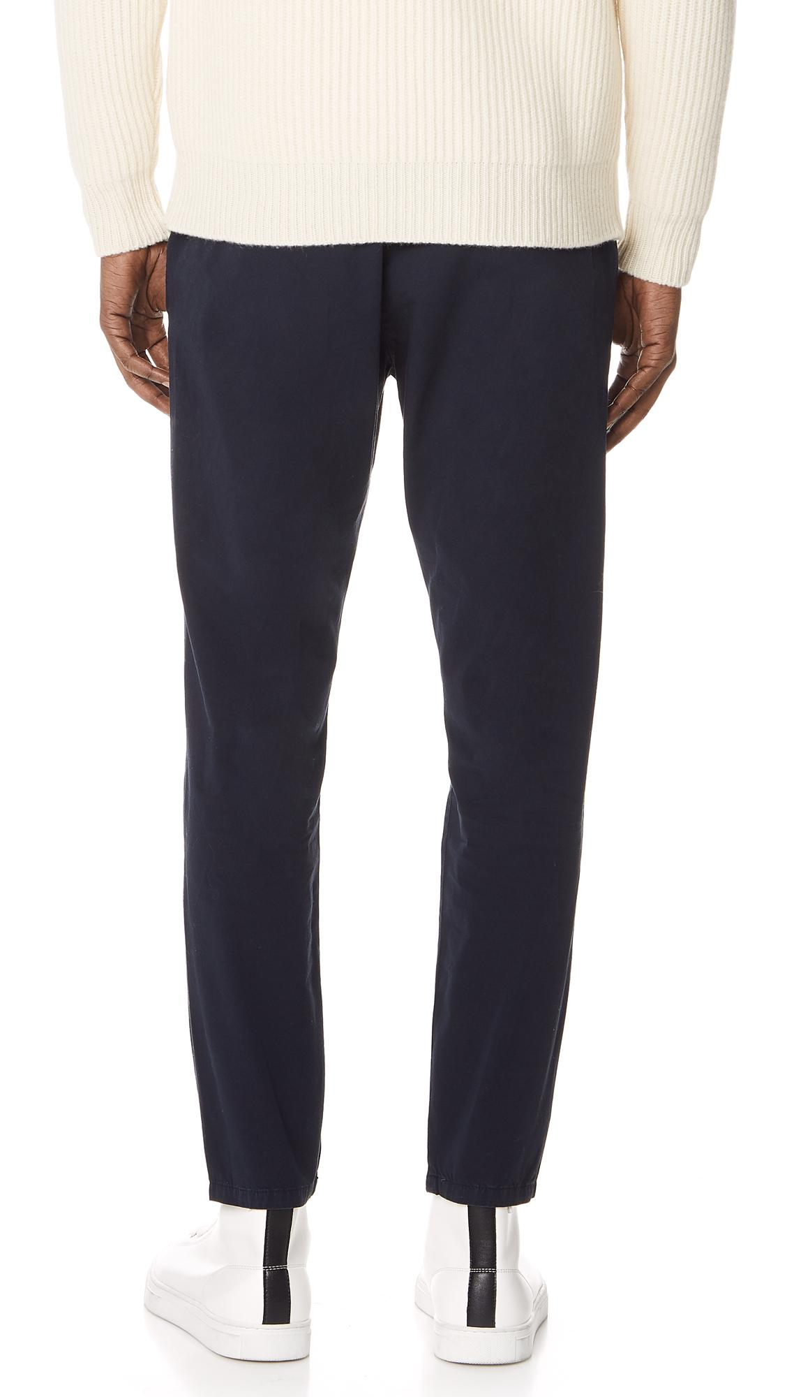 Hope Cotton Kris Trousers in Dark Blue (Blue) for Men