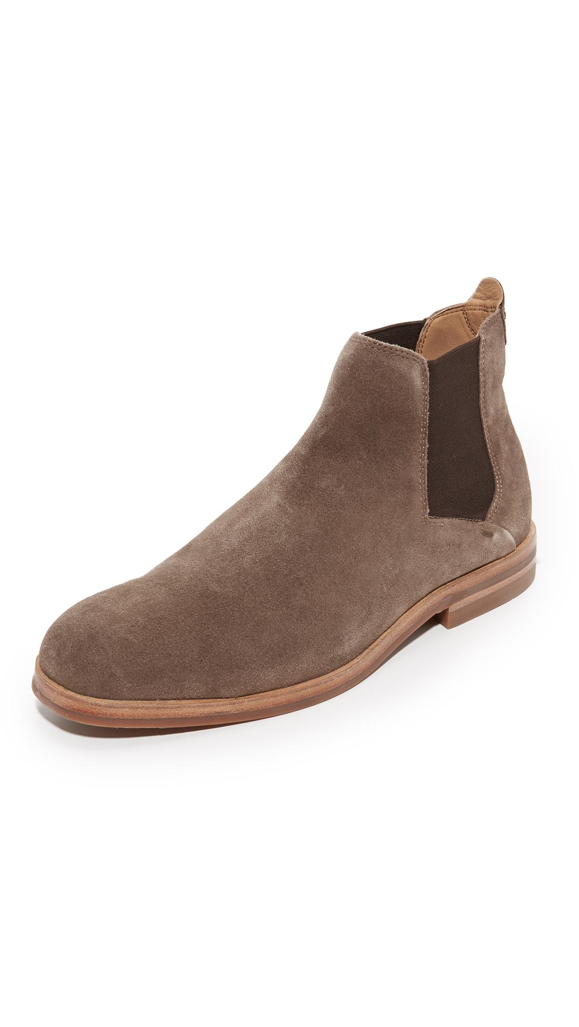 Lyst H By Hudson Tonti Suede Chelsea Boots In Brown For Men