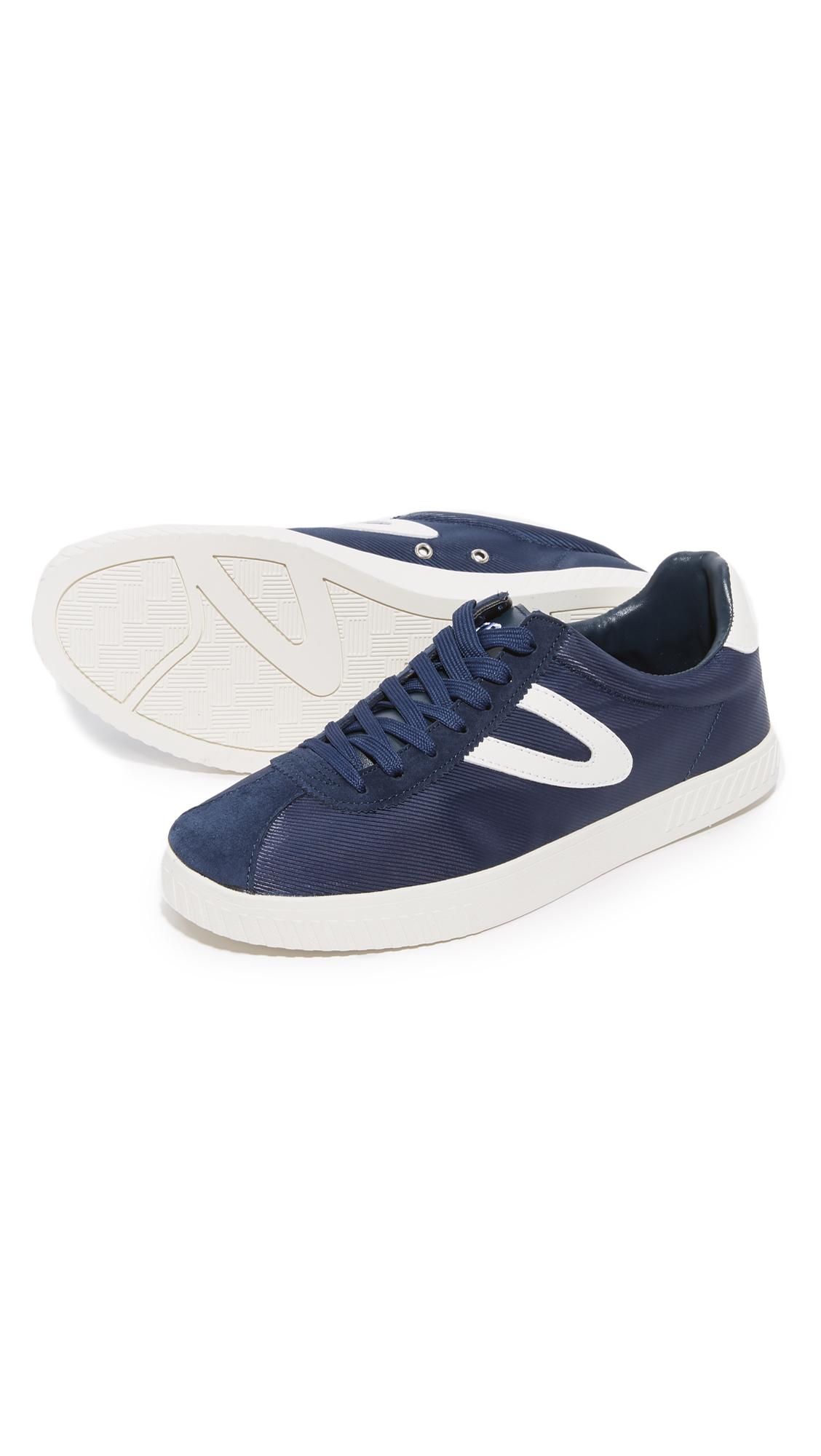 Lyst Tretorn Camden Nylon Sneakers In Blue For Men