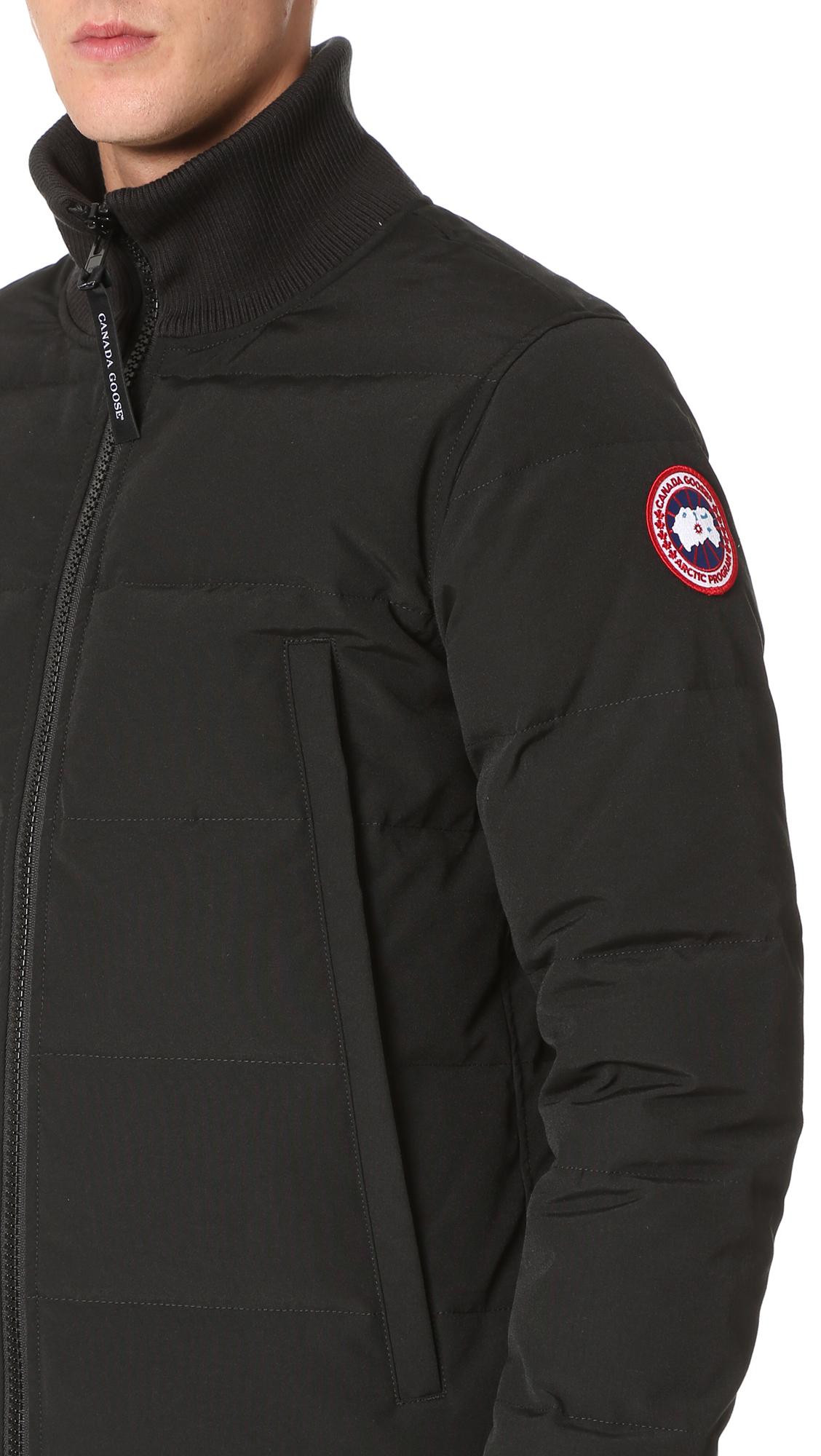 Canada Goose Woolford Coat In Black For Men Lyst