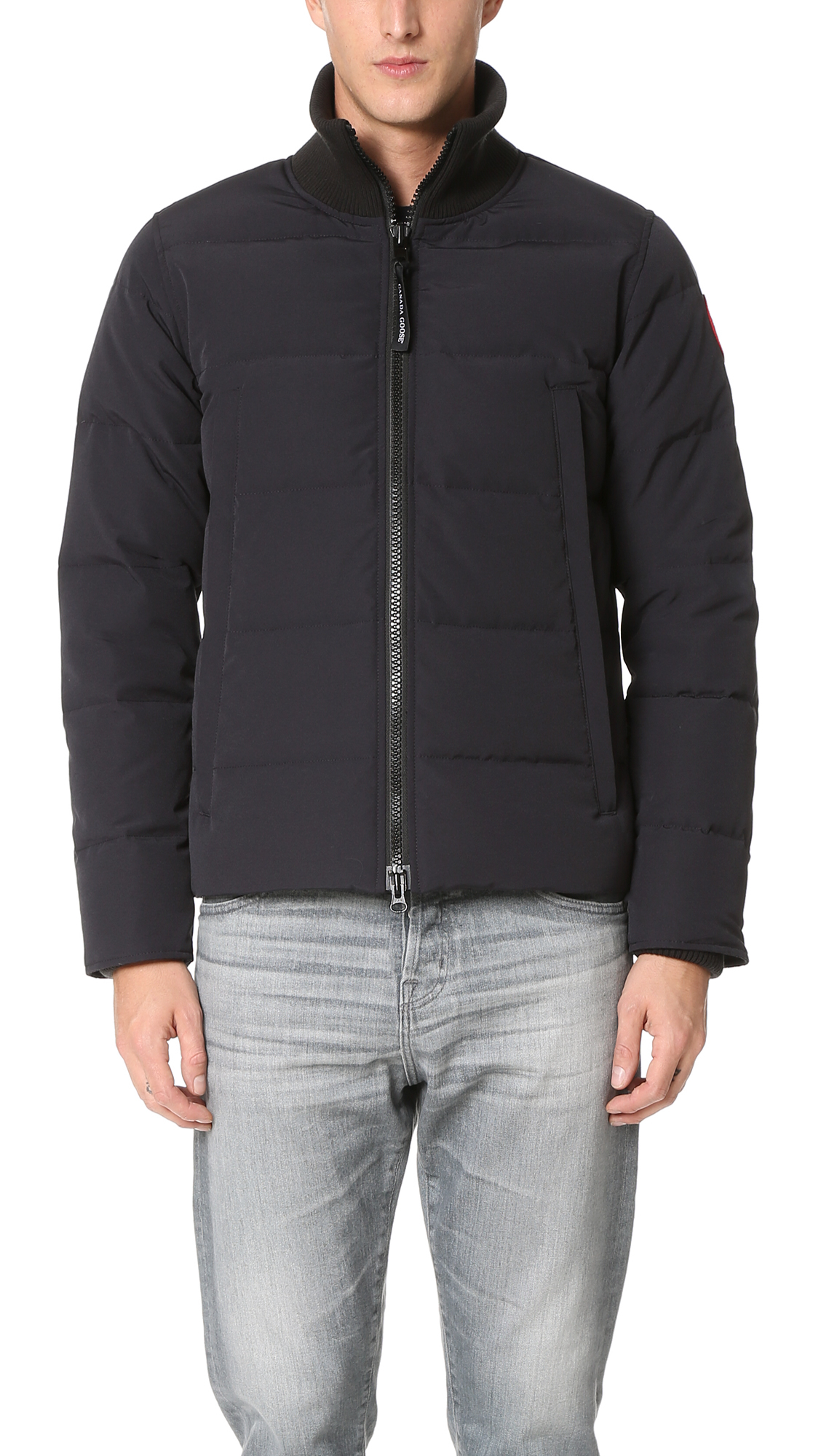 canada goose woolford jacket blue