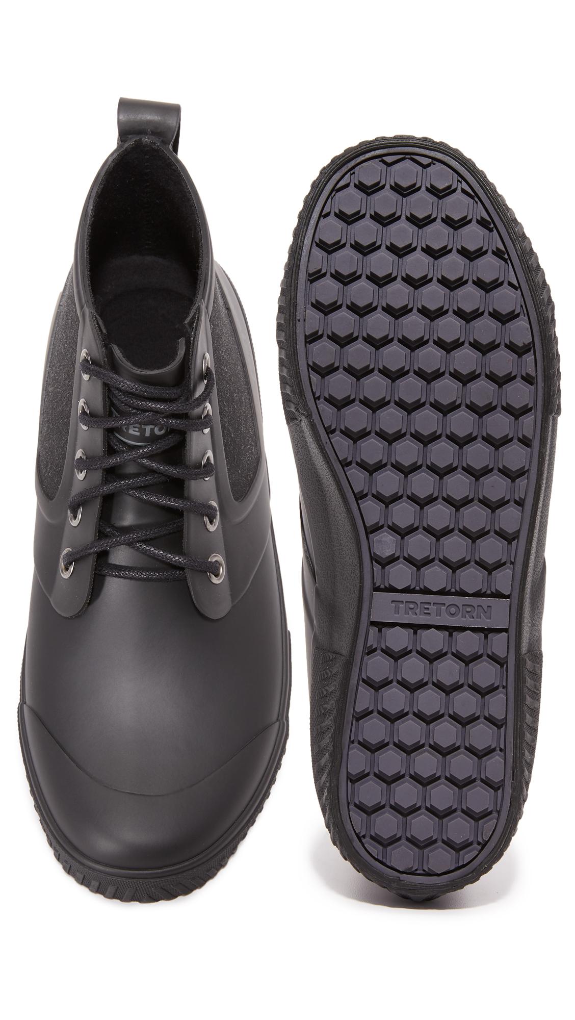 Tretorn Rubber Gill Boots In Black For Men Lyst