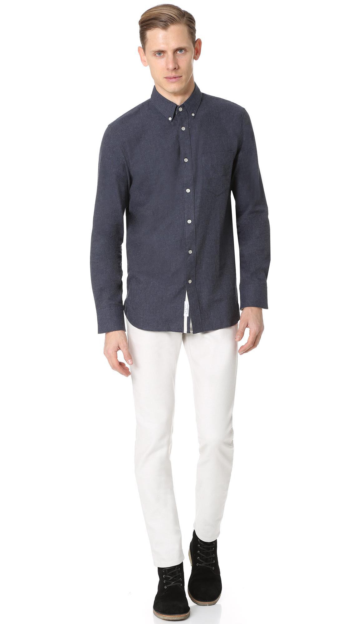 Rag & Bone Denim Archive Fit 2 Selvedge Jeans in White for Men