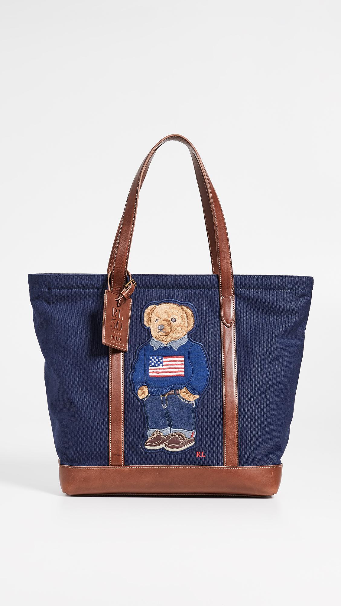 Lyst - Polo Ralph Lauren 50th Anniversary Tote in Blue for Men 0e1ecbdc5749b