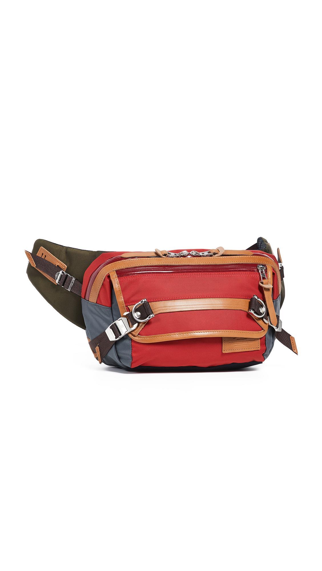 Master Piece Potential V2 Shoulder Bag in Red for Men - Lyst a8aa7289952ec