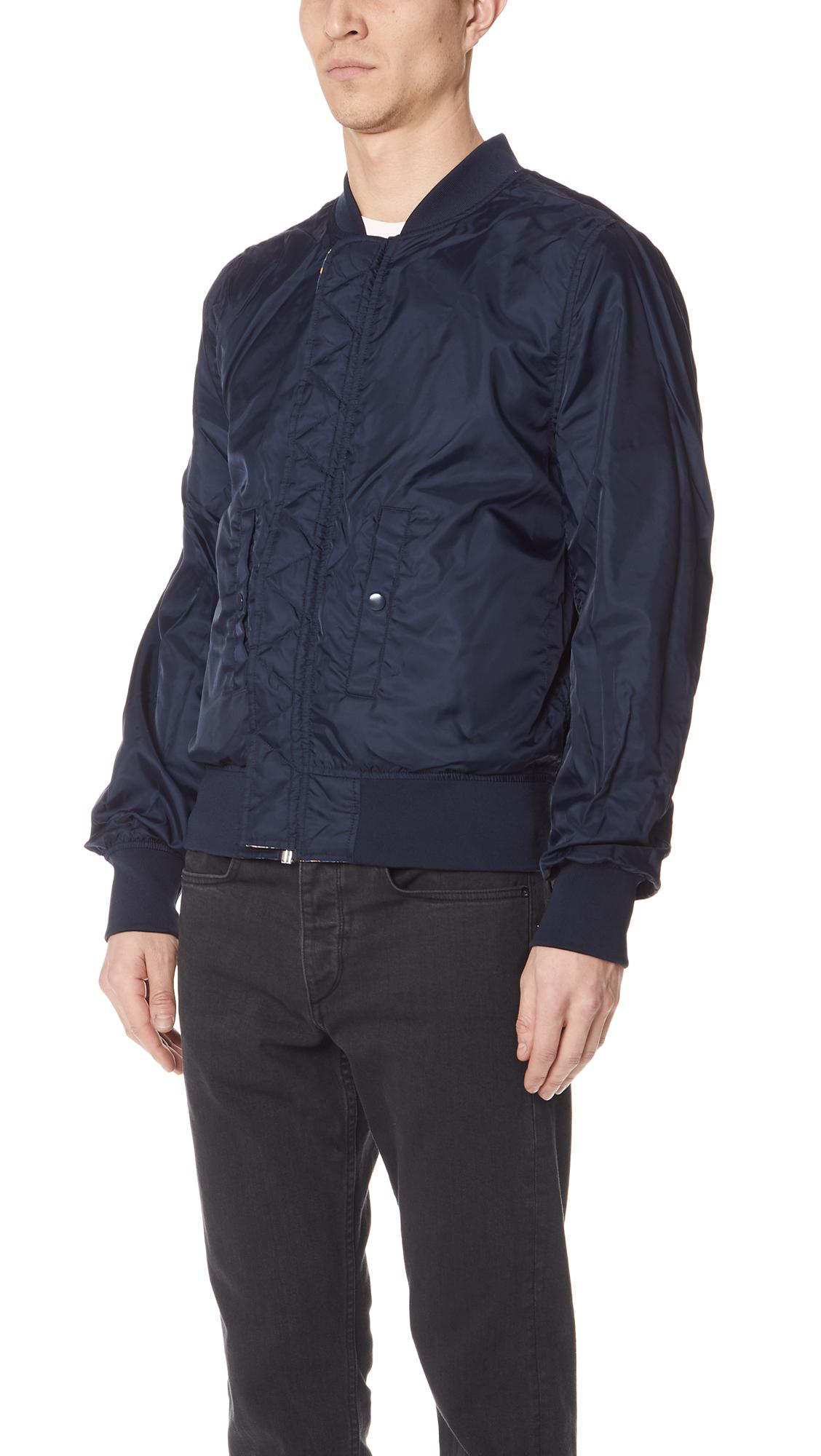 Alpha Industries Synthetic L-2b Liberty Scout Jacket in Blue for Men