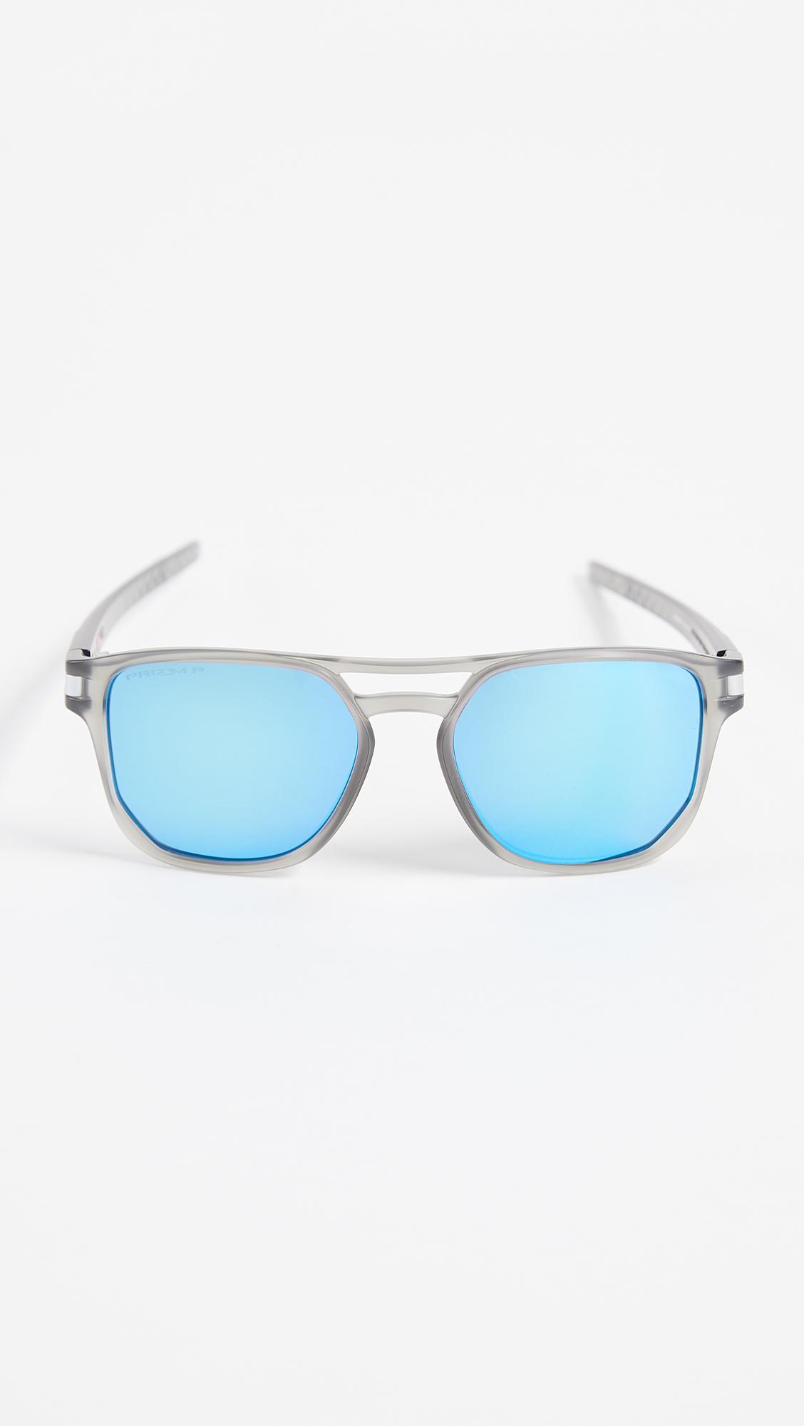 e89f132e67 Oakley Latch Beta Polarized Sunglasses in Blue for Men - Lyst