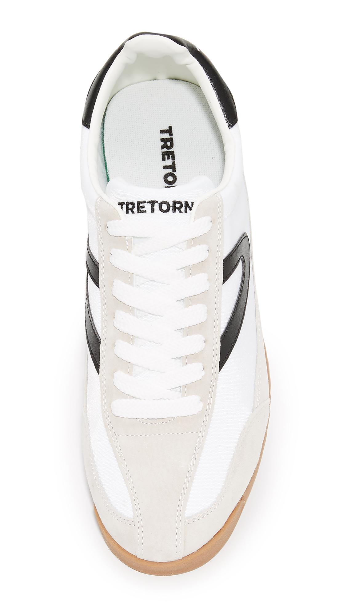 Tretorn Leather Rawlins Runners in White for Men