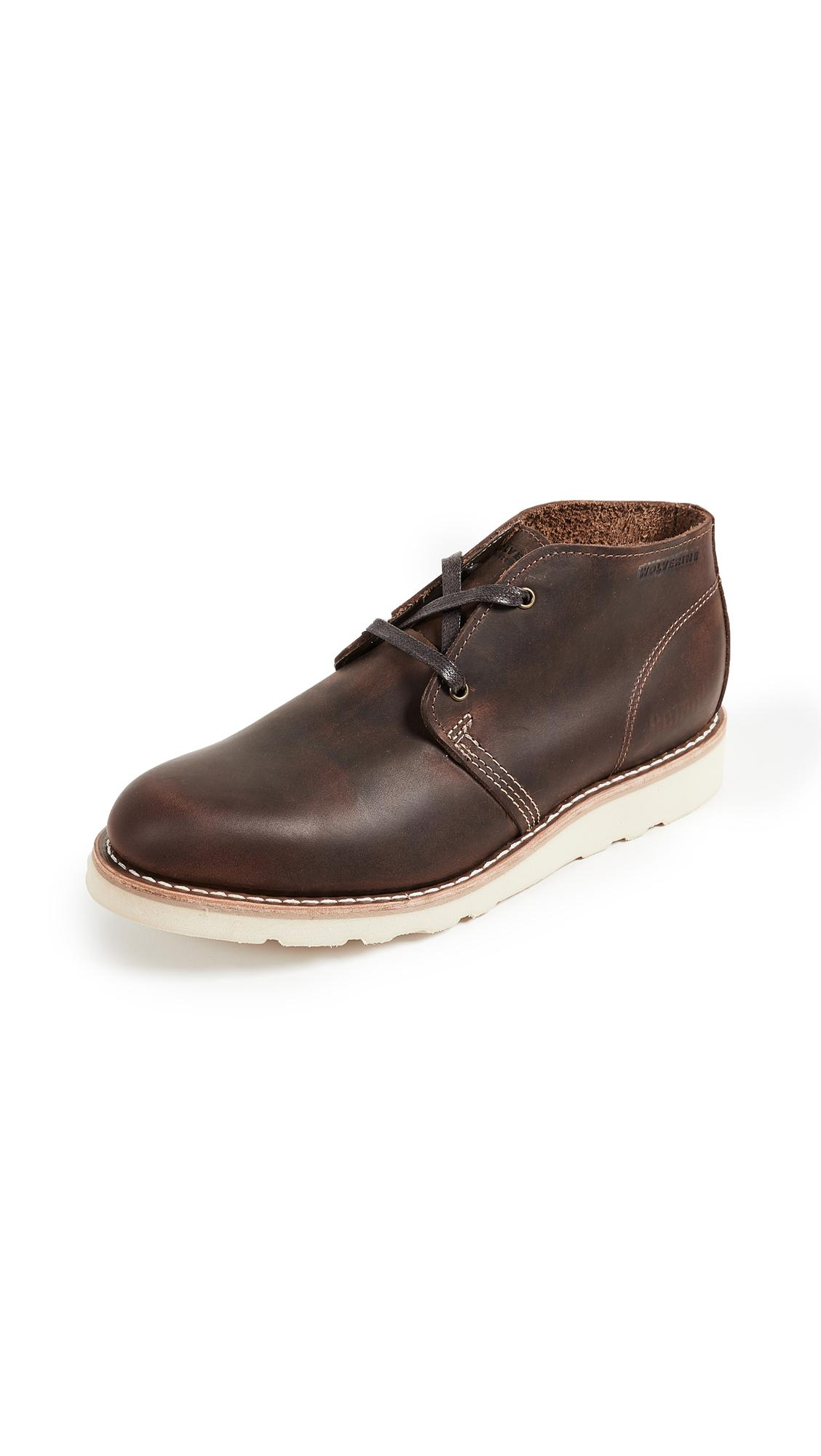 469d712b716 Wolverine Brown Liam Chukka Boots for men