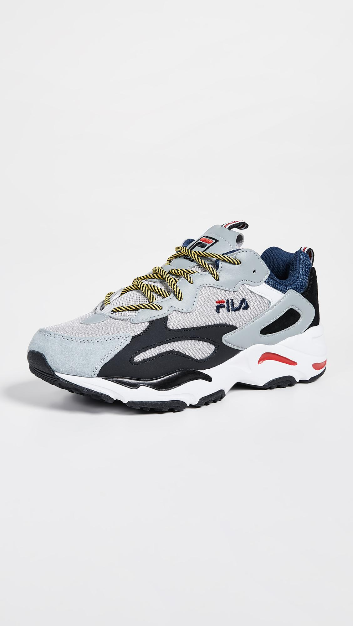fila ray yellow blue factory outlet