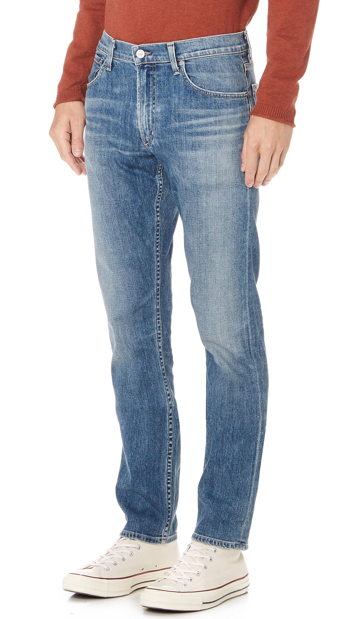 Citizens of Humanity Denim Bowery Standard Slim Jeans in Blue for Men