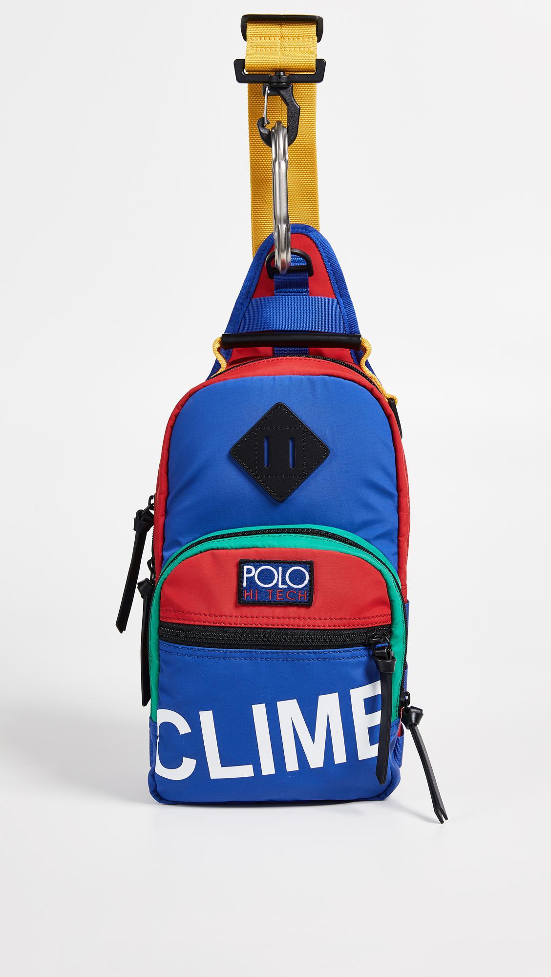 6bb5478ce670 Lyst - Polo Ralph Lauren Hi Tech Sling Bag for Men