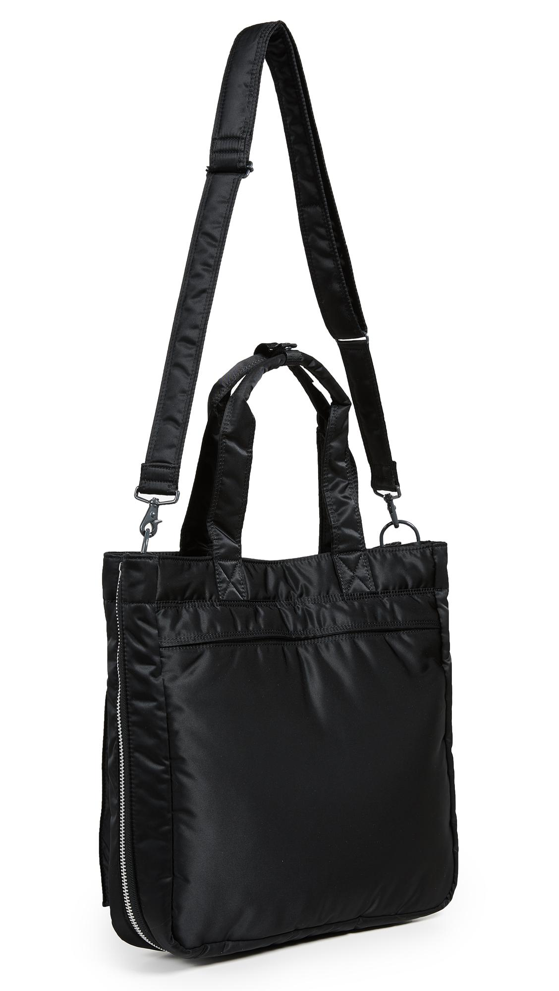 Porter Tanker Tote Bag in Black for Men