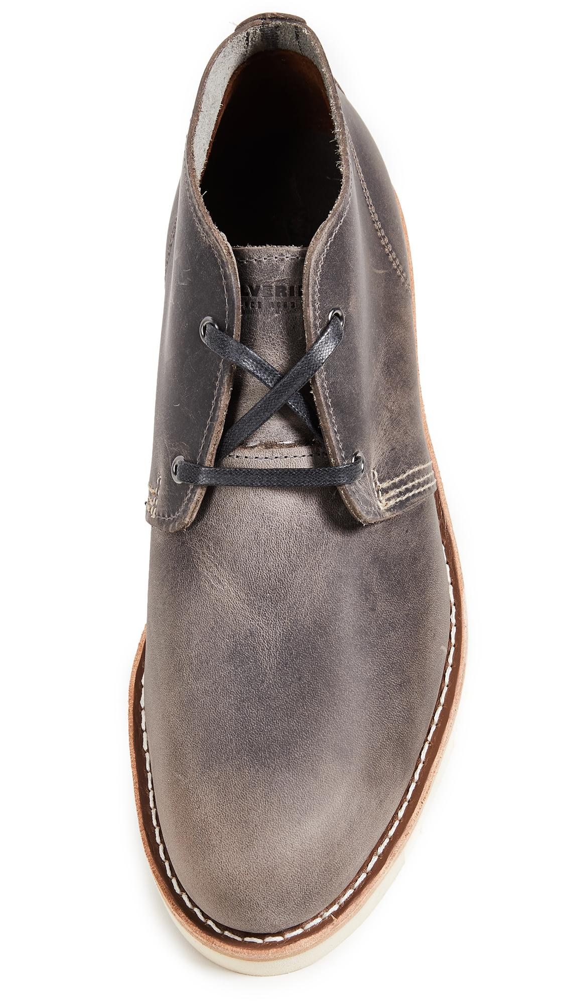 ca25d859855 Wolverine Gray Liam Chukka Boots for men