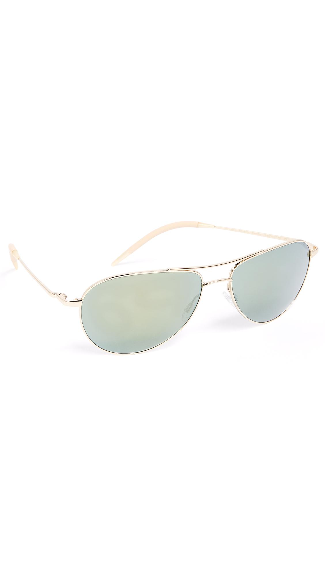 fd3009b22c Oliver Peoples Benedict Sunglasses in Metallic for Men - Lyst