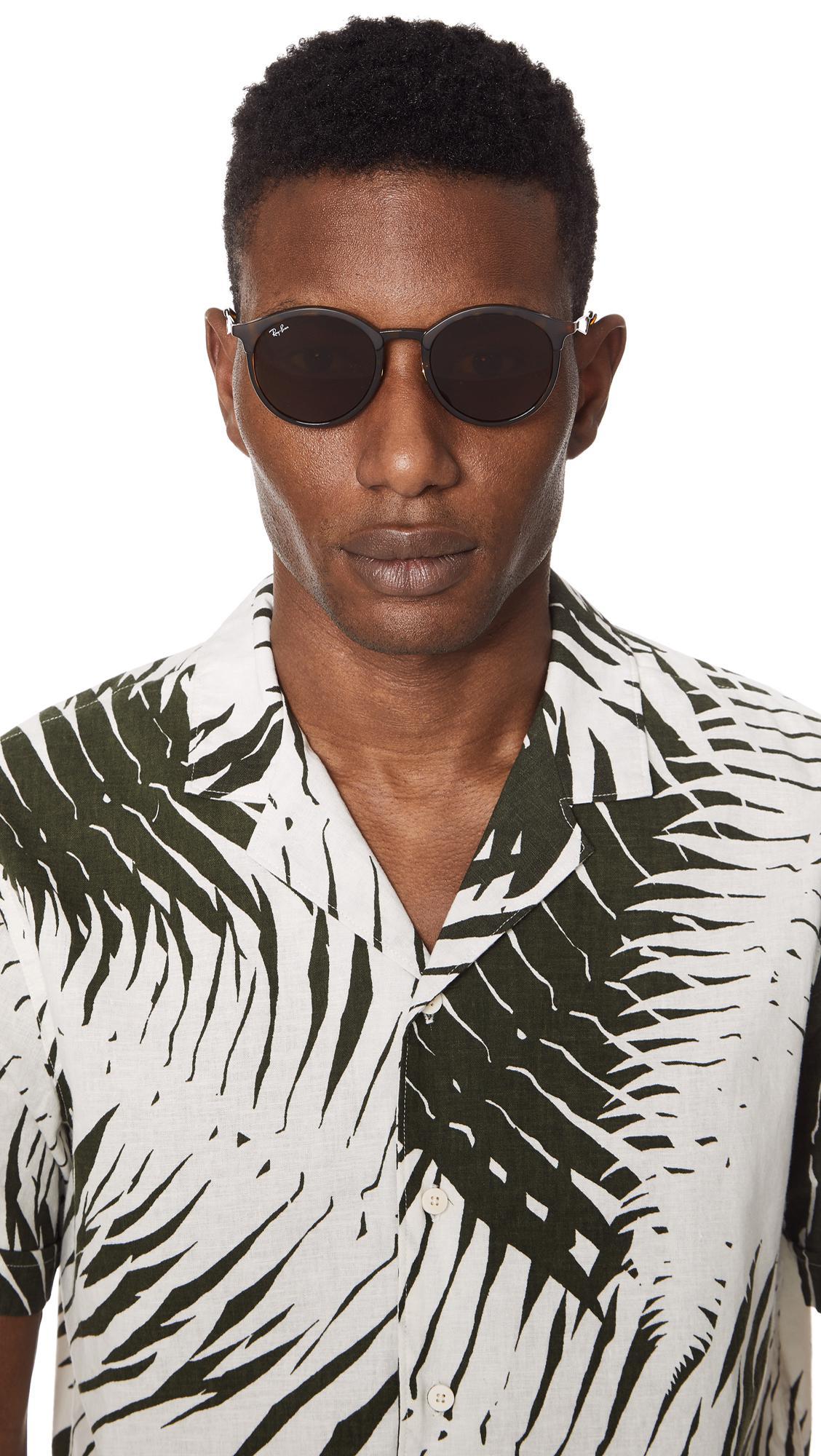 bc9912911a Ray-Ban - Brown Emma Sunglasses for Men - Lyst. View fullscreen