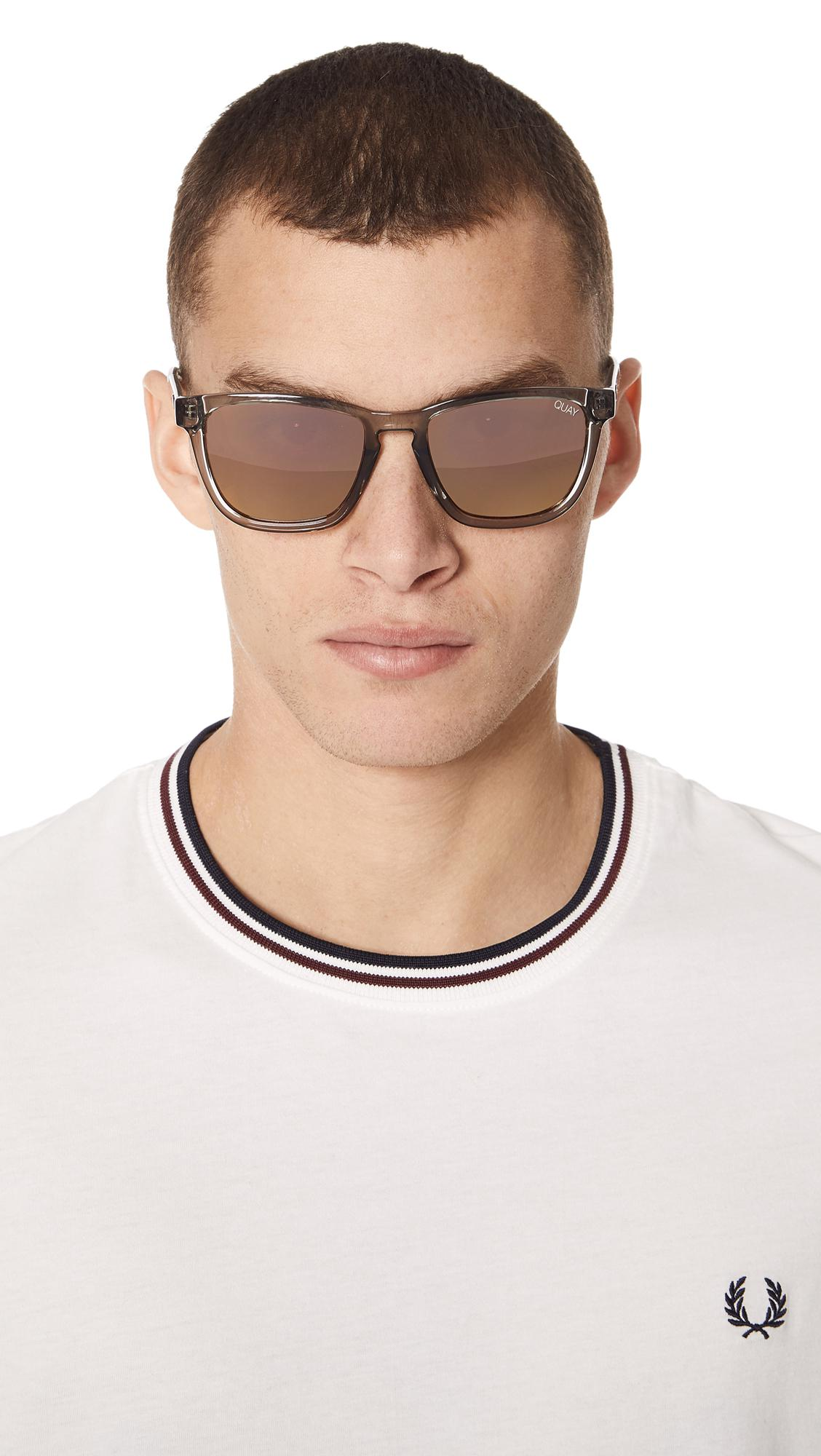 d25c5dc6ec Quay Hardwire Sunglasses in Gray for Men - Lyst