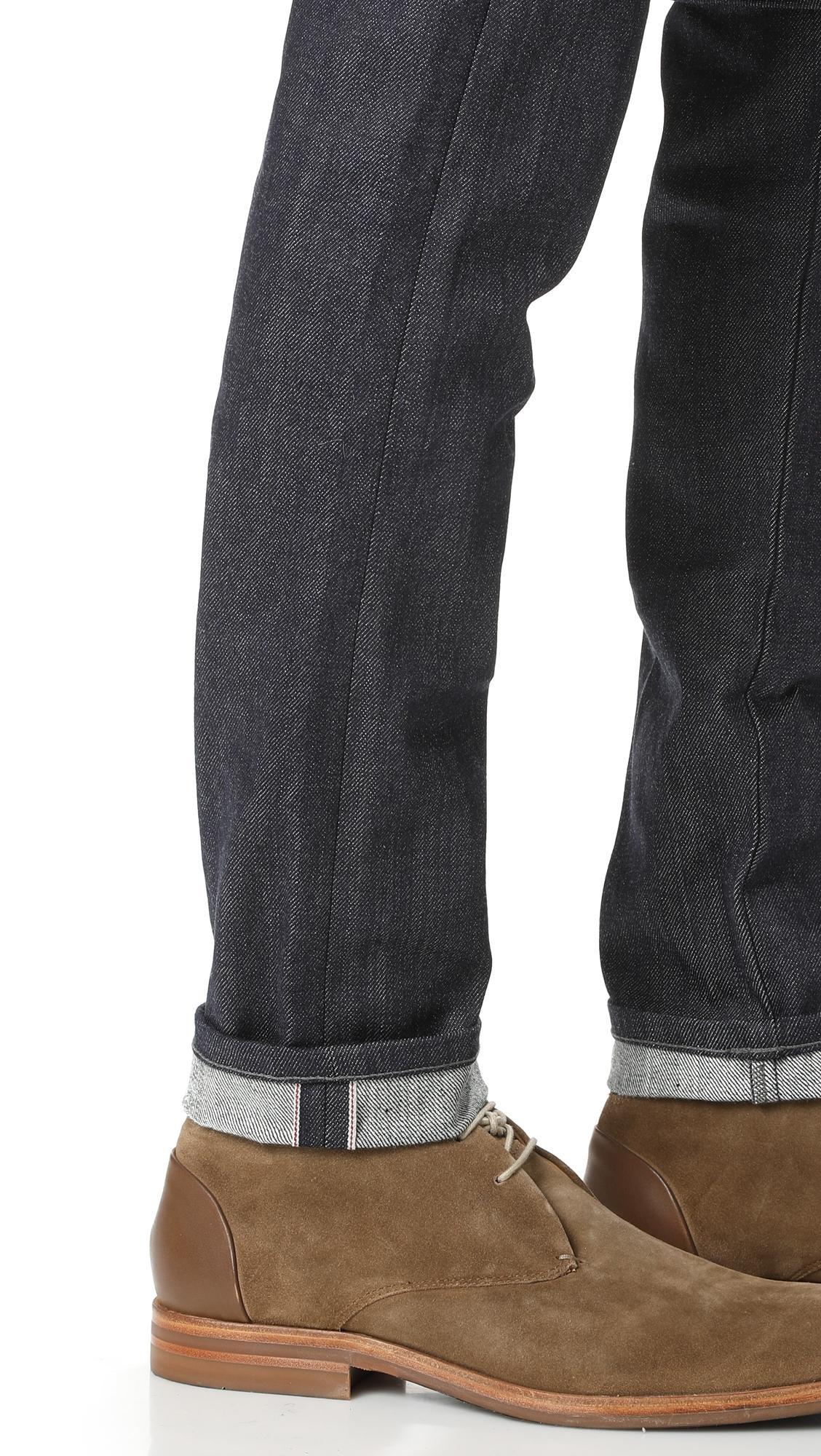 Naked & Famous Denim Super Guy - Indigo Selvedge Jeans in Blue for Men