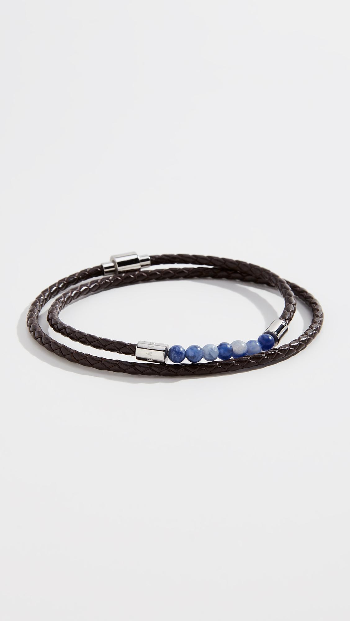 edb7c4a304fb Ted Baker Lizaa (brown) Bracelet in Brown for Men - Lyst
