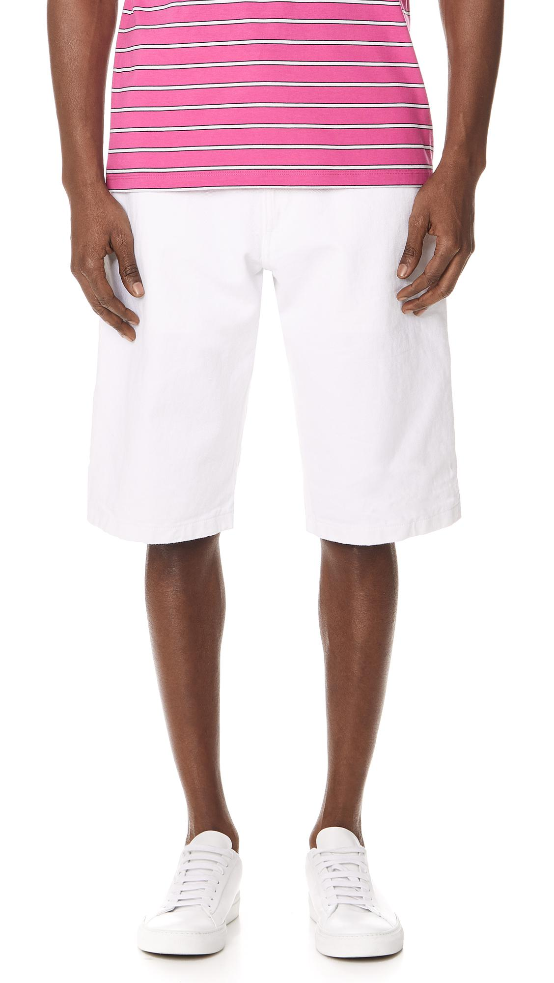 Worker short - White Ami Best Wholesale Sale Online Cheap Cost Clearance Prices mbE6IQc5AP
