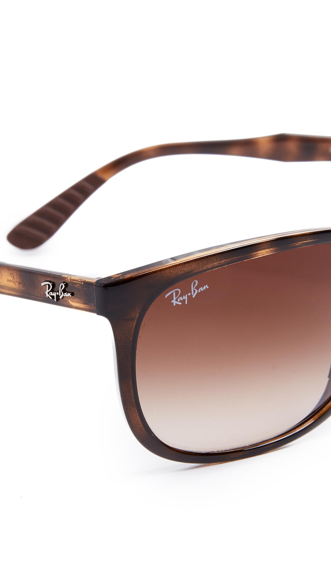 Ray-Ban Rubber Rb4291 Sunglasses in Brown for Men