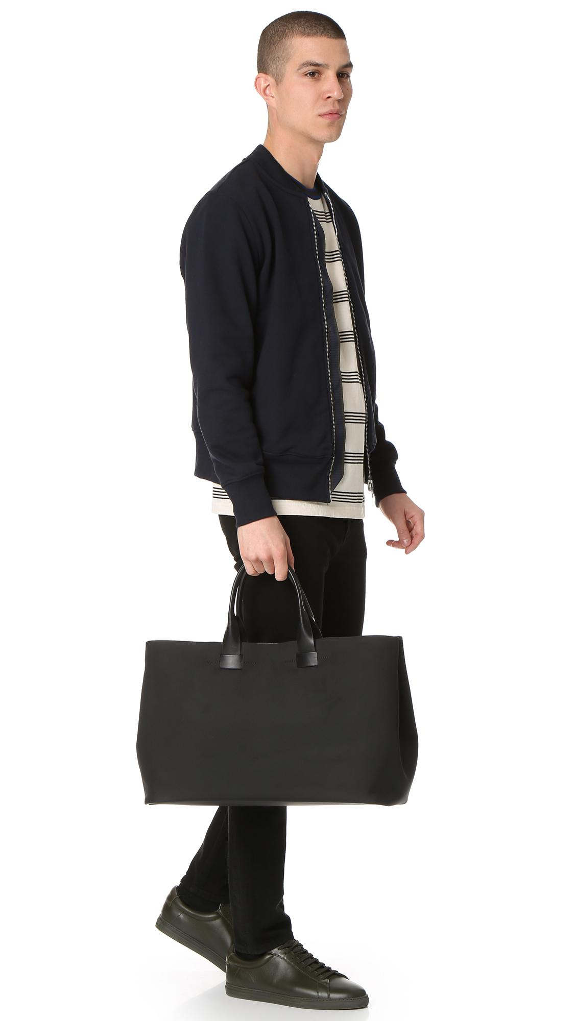 Troubadour Synthetic Nylon Tote in Black for Men