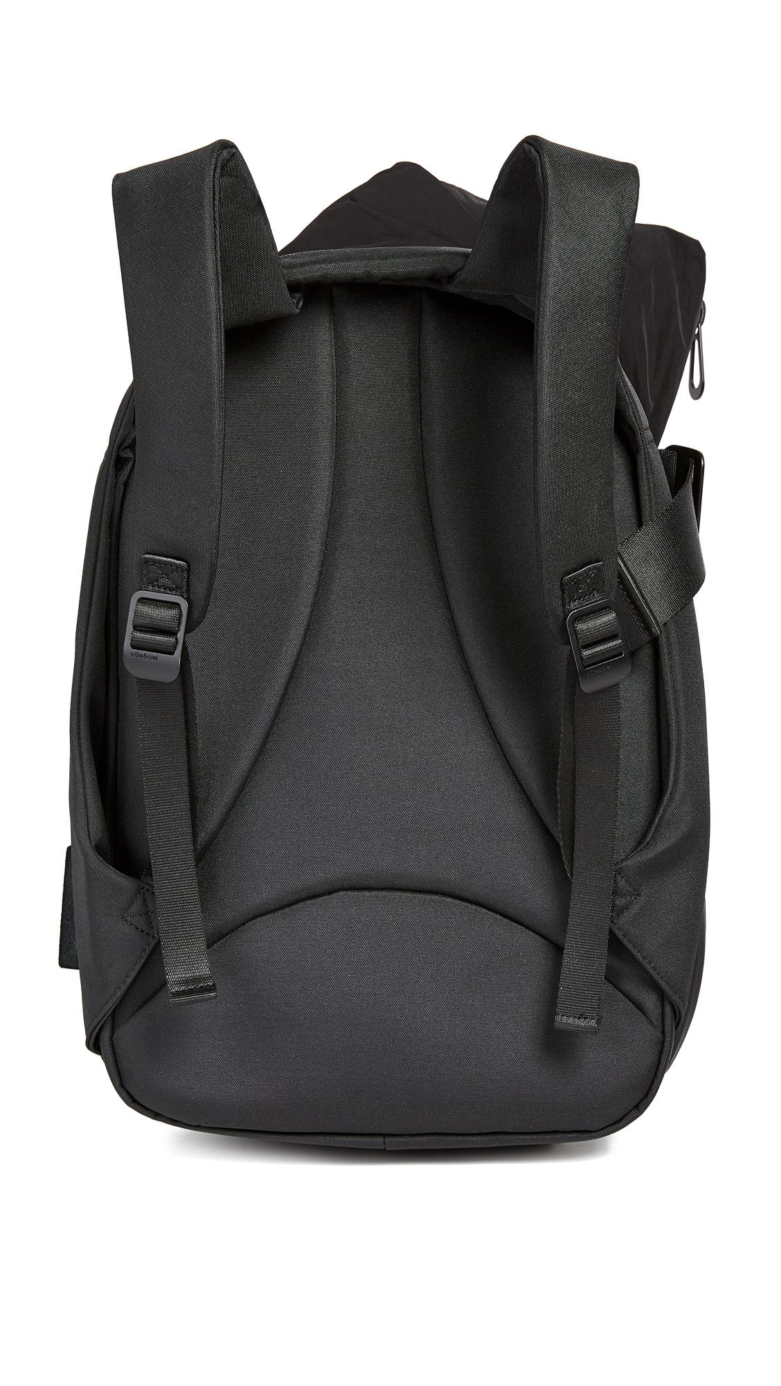 Côte&Ciel Isar Memory Tech Backpack in Black for Men