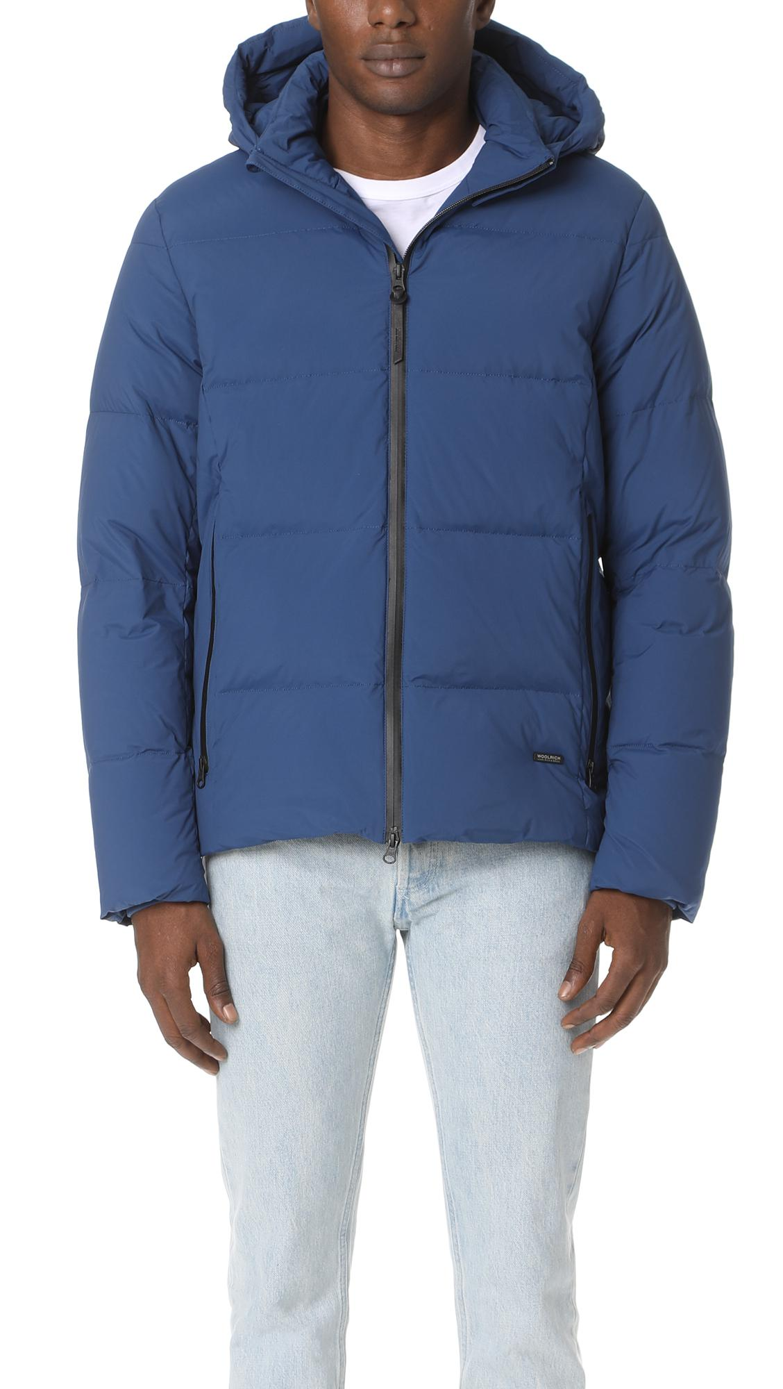Lyst Jacket In Comfort For Woolrich Blue Men wfnBxwzZ