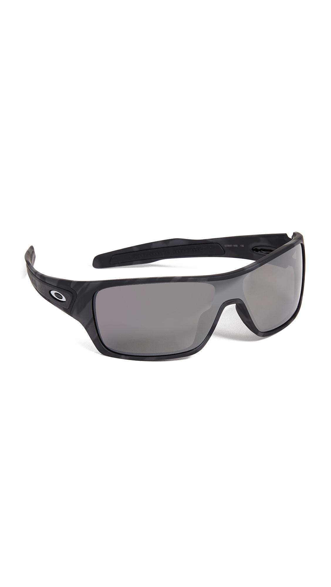 5923a6a187 Oakley Turbine Rotor Polarized Sunglasses in Black for Men - Lyst