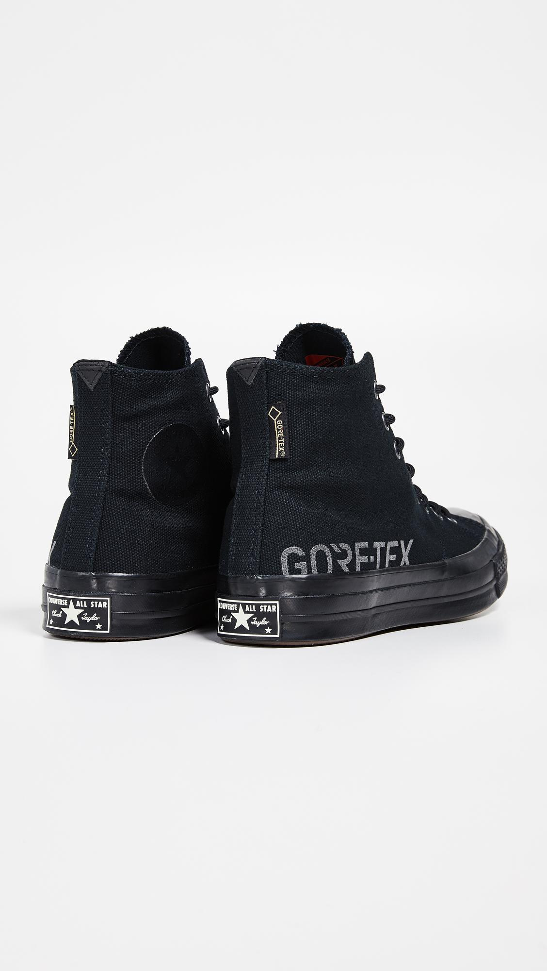 Lyst - Converse Chuck 70 Goretex Waterproof High Top Sneakers in ... c511df877