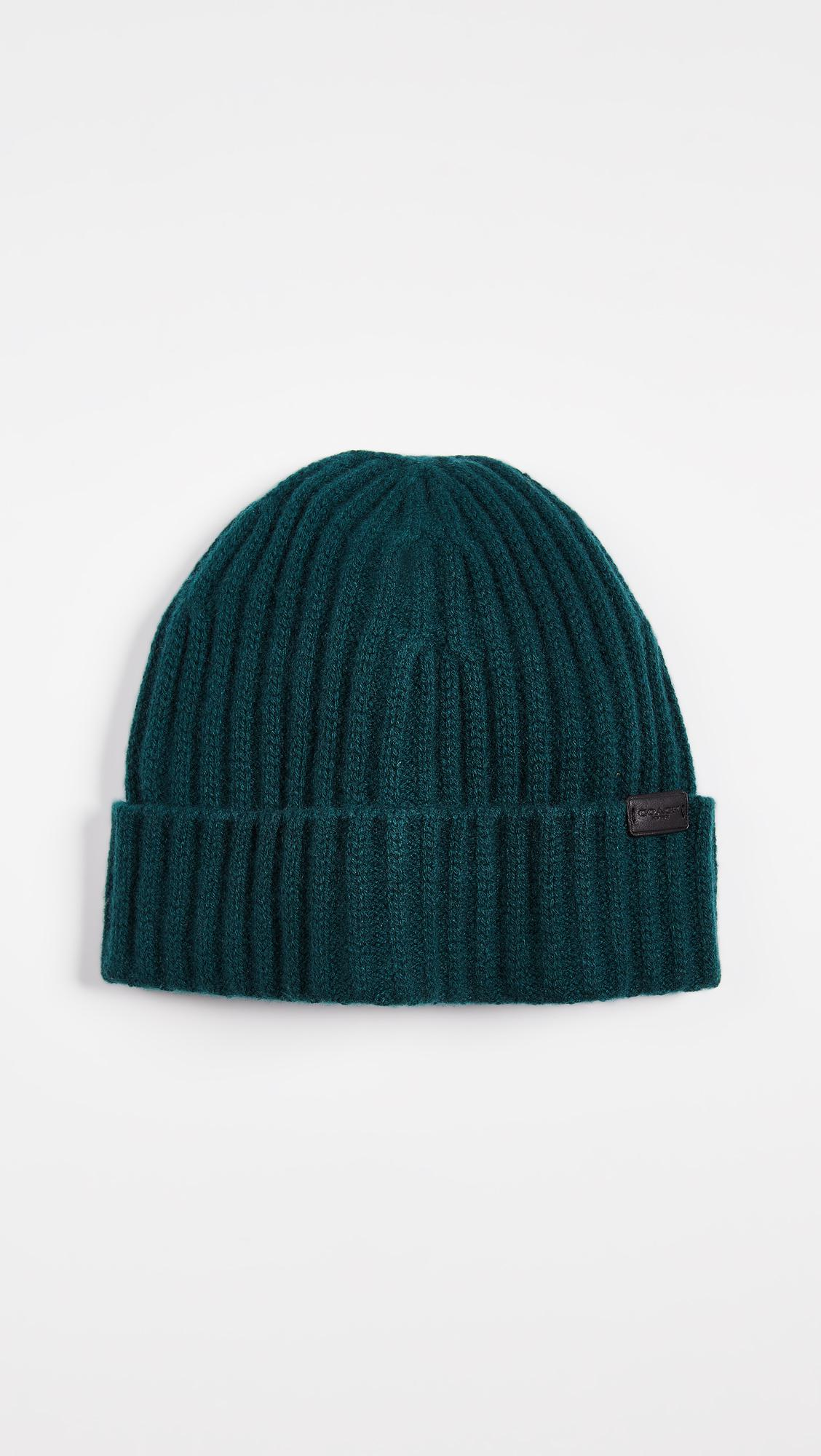 Lyst - Coach Cashmere Beanie in Green for Men dc9afcaa6c86