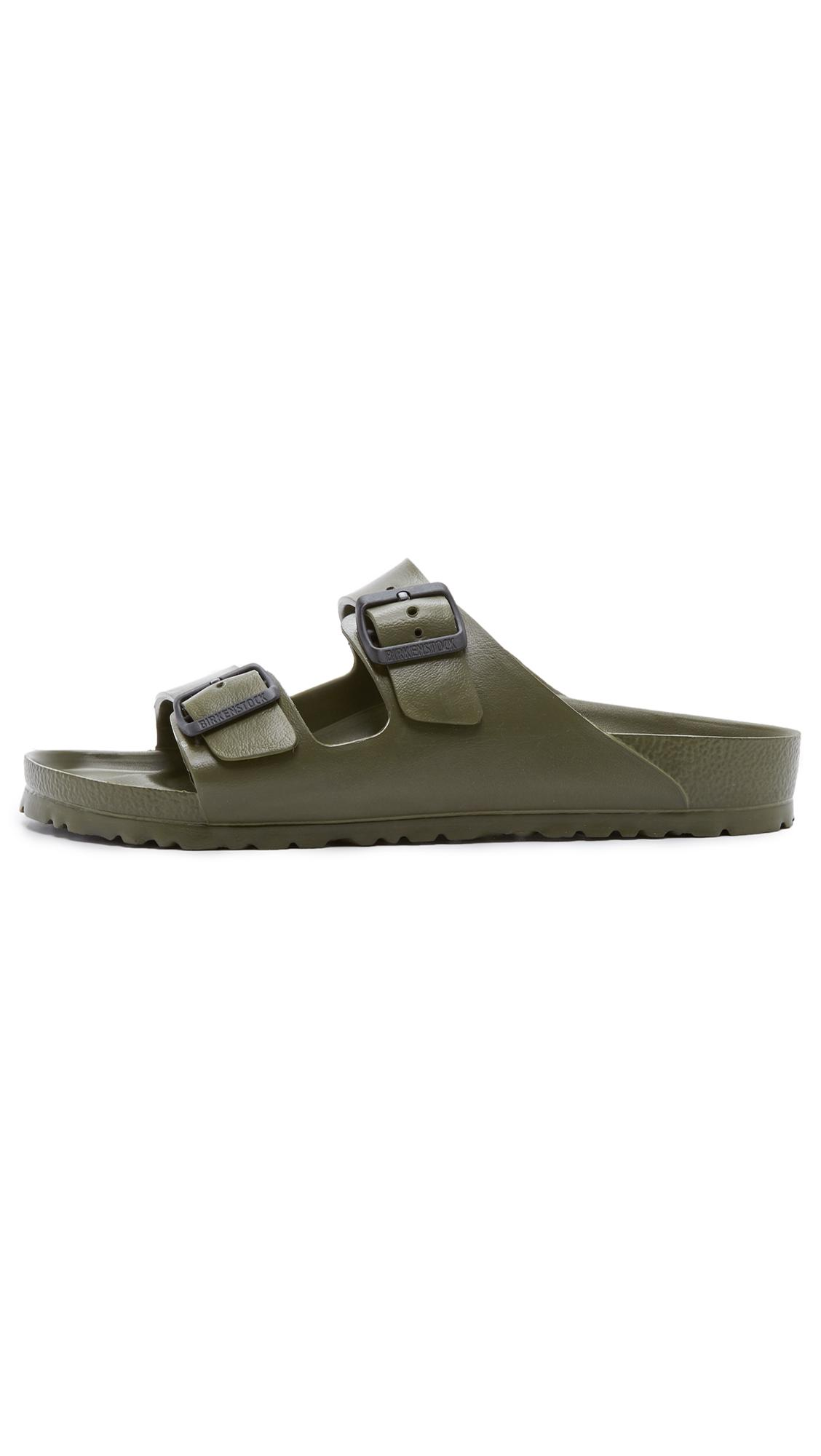 b201a08ad97 Birkenstock Eva Arizona Sandals in Natural for Men - Save 23% - Lyst