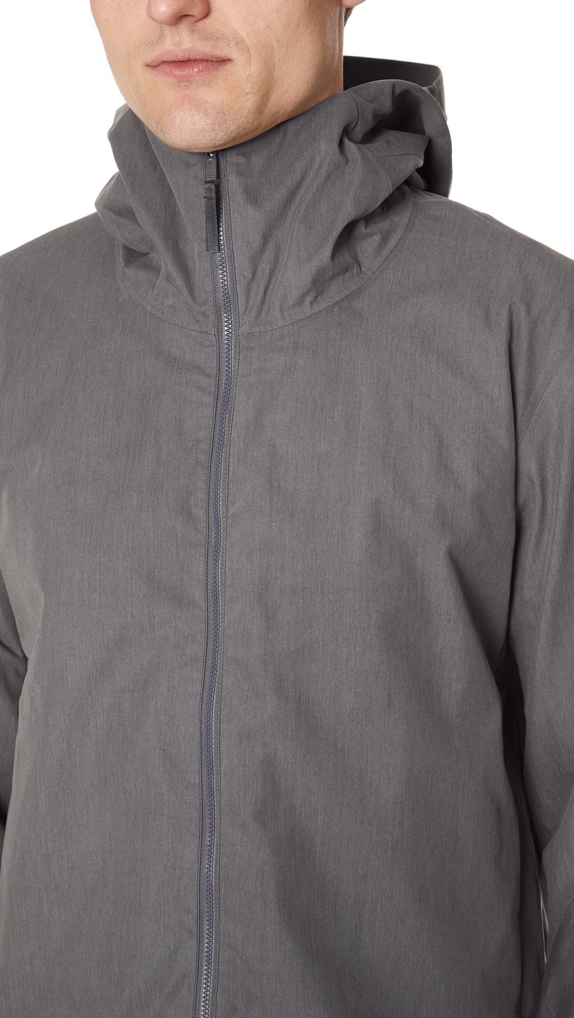 Arc'teryx Cotton Isogon Jacket in Ash (Grey) for Men