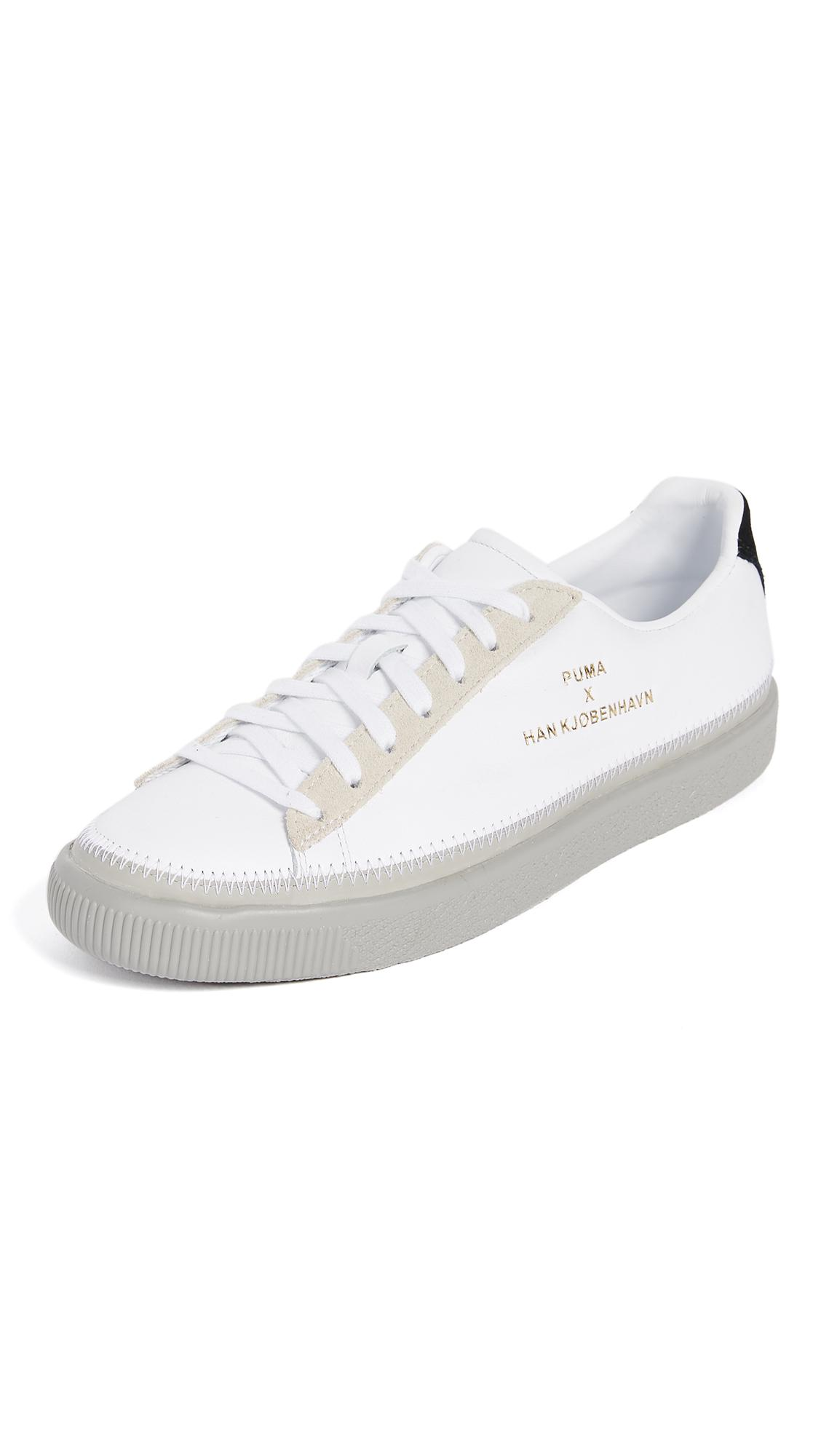 98482aae99a Lyst - Puma Select X Han Kjobenhavn Stitched Sneakers in White for Men