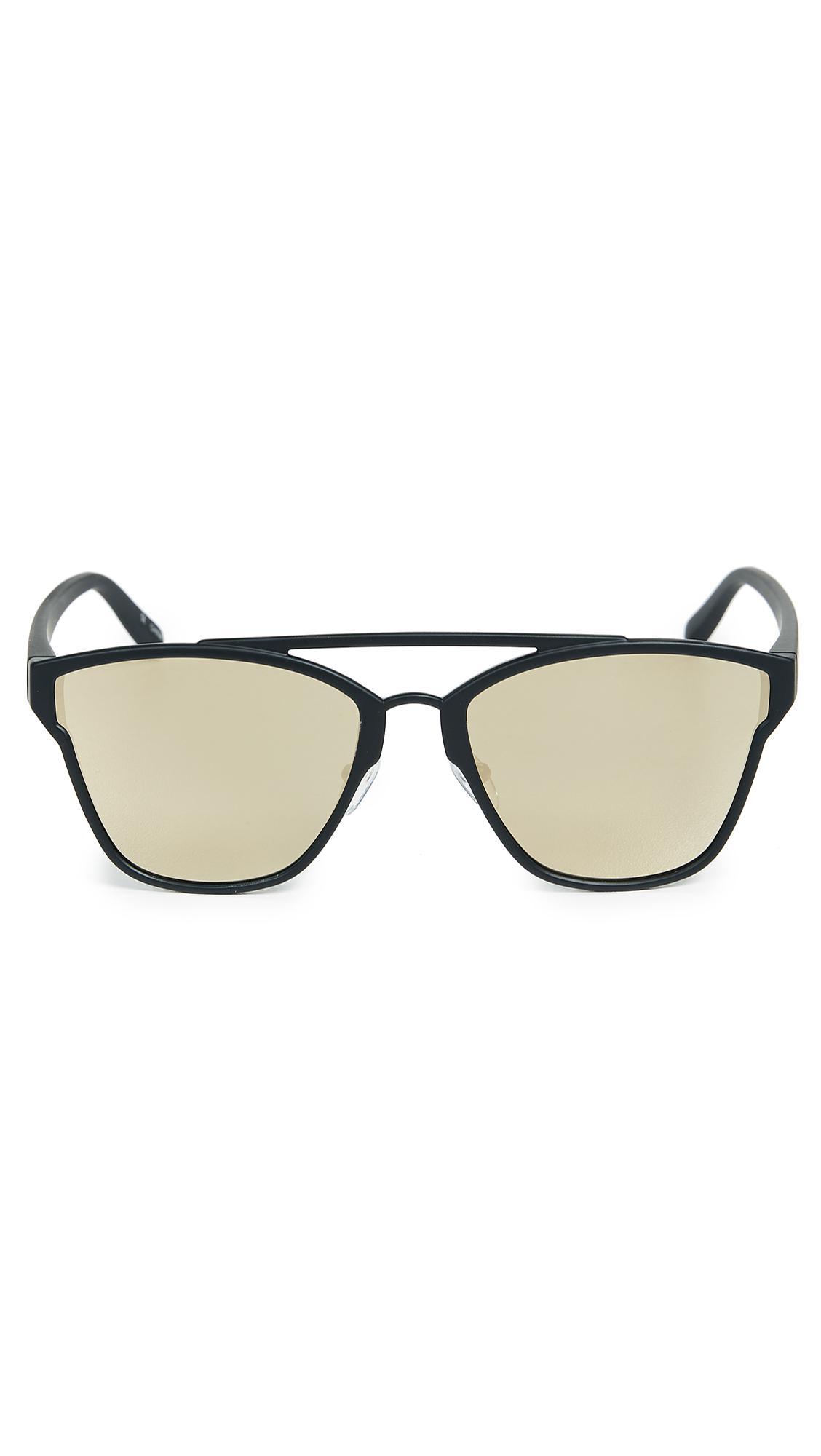 Le Specs Herstory Sunglasses in Black for Men