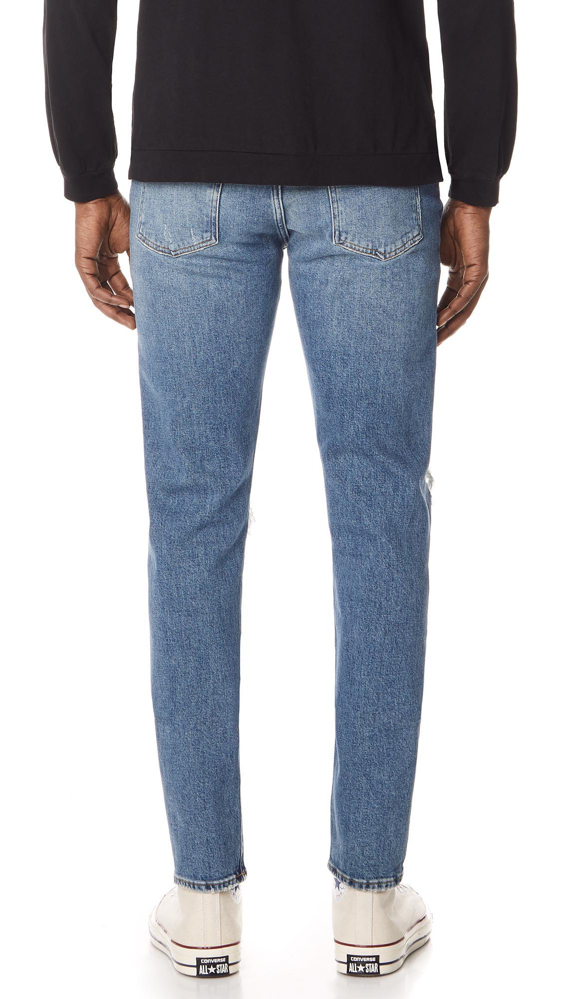 Agolde Denim Blade Jeans in Blue for Men