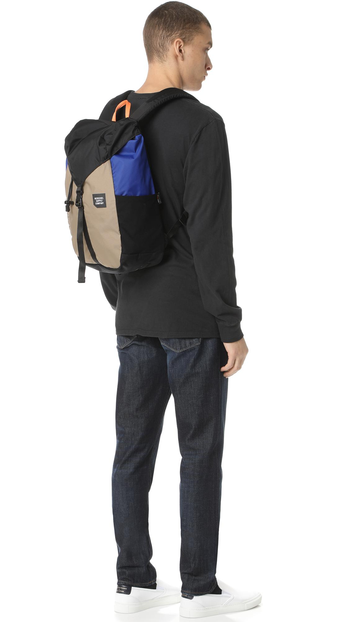 ea54f708ba9 Herschel Supply Co. Trail Barlow Medium Backpack in Black for Men - Lyst