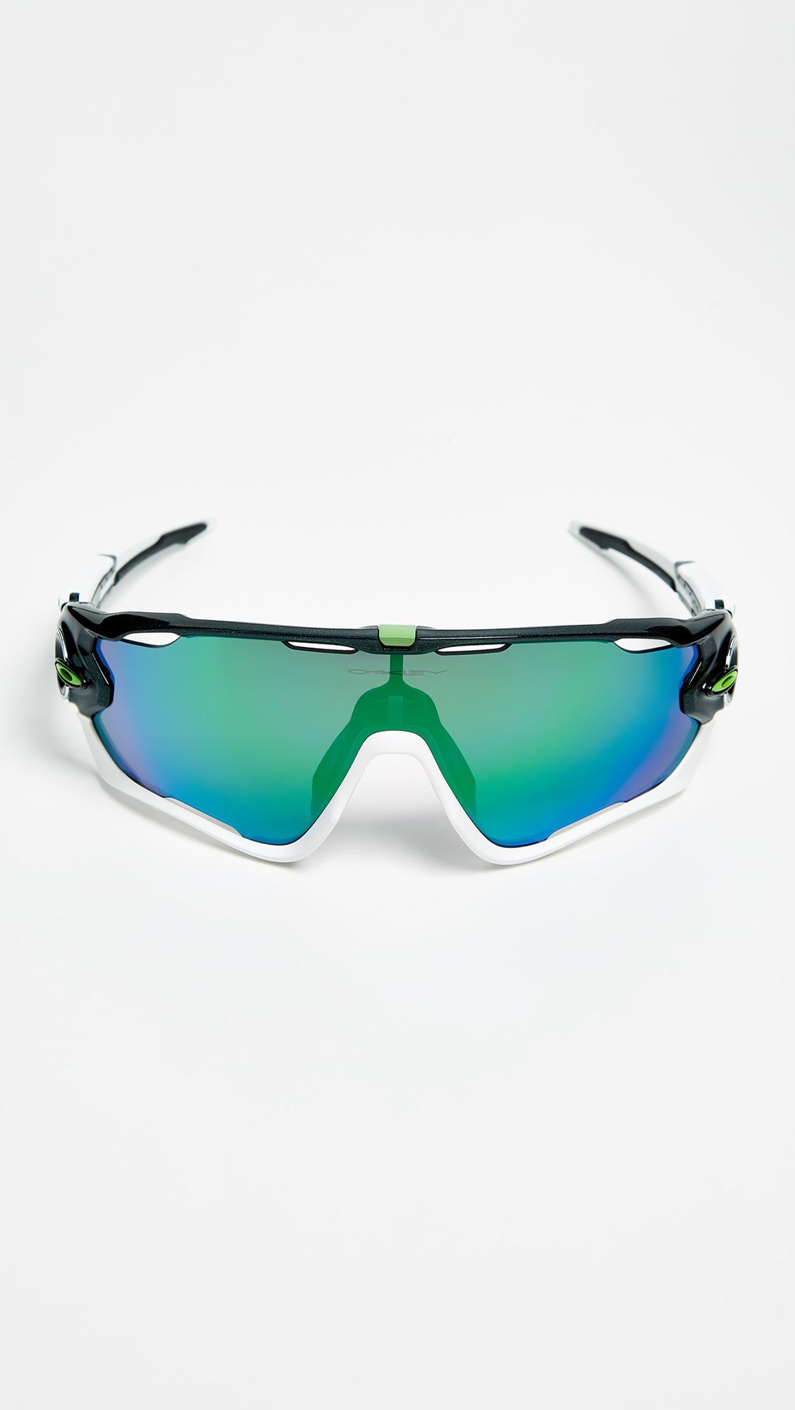 449c6912f5e Lyst - Oakley Jawbreaker Cavendish Sunglasses in Green for Men