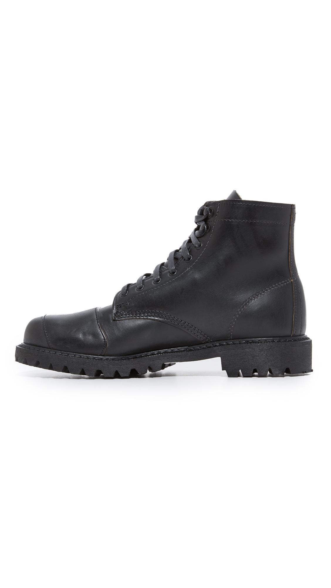 ae8de7474d3 Wolverine Dylan Moto Boots in Black for Men - Lyst
