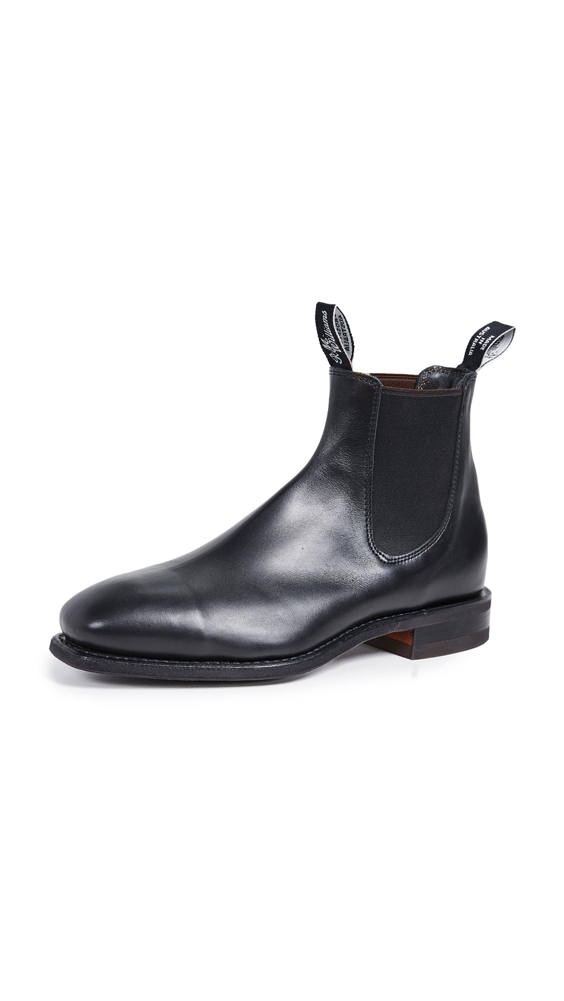 Comfort Rm Leather Chelsea Boots