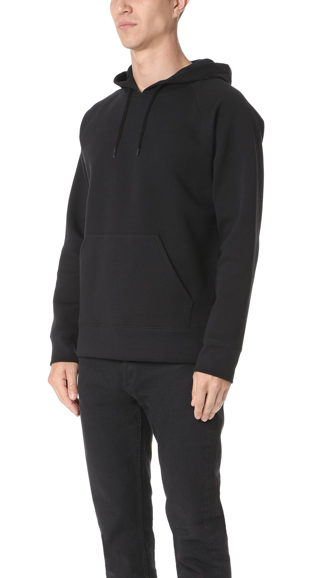 Our Legacy Cotton Scuba Hoodie in Black for Men