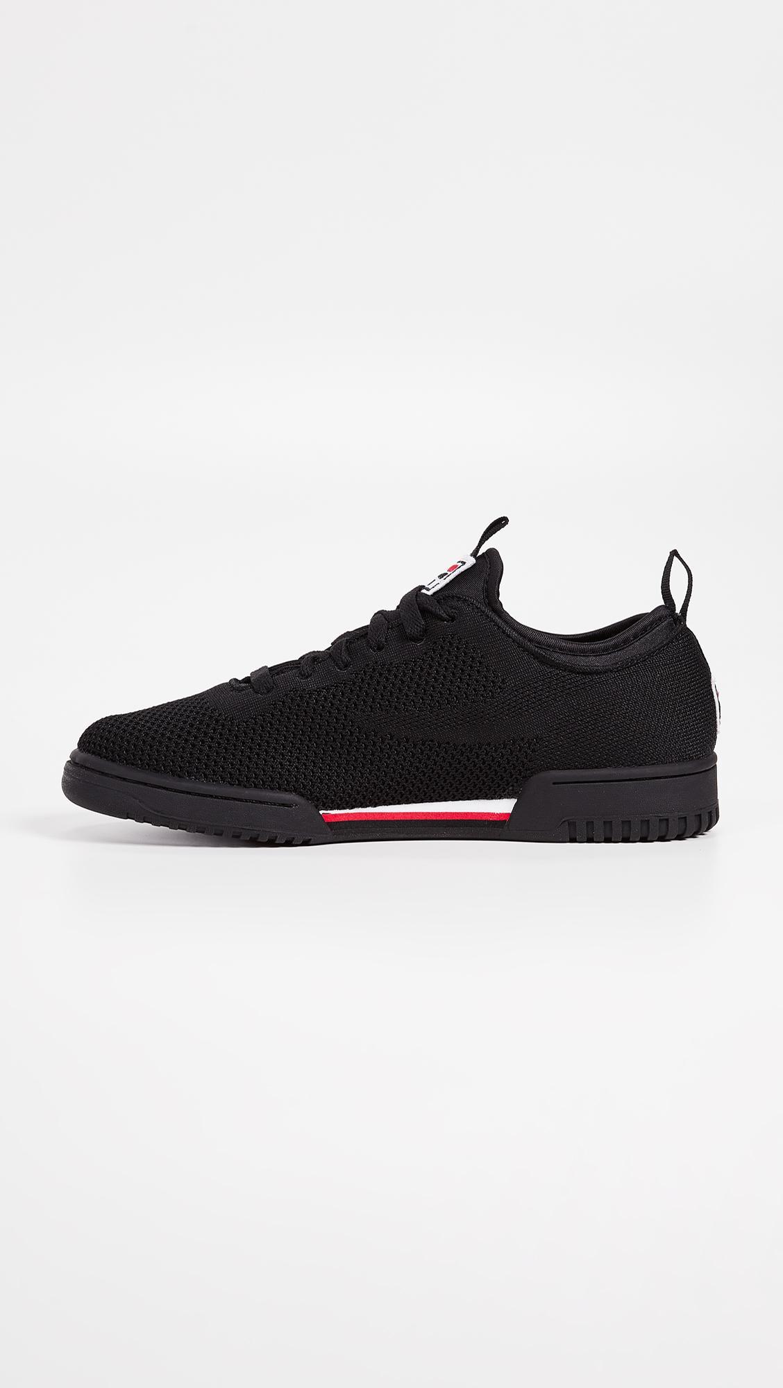 new concept d493f 98167 Fila - Black Original Fitness 2.0 Sneakers for Men - Lyst. View fullscreen